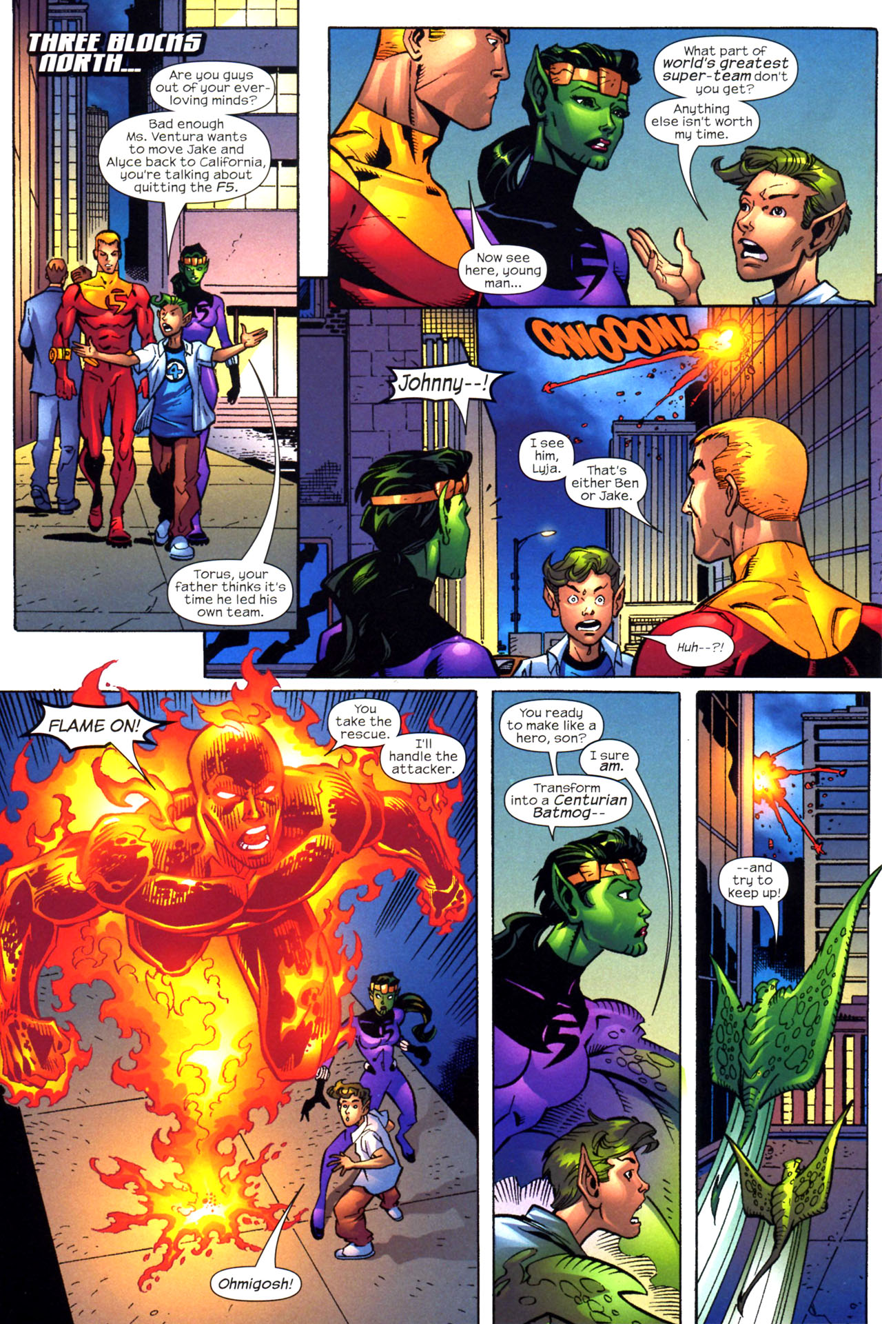 Read online Fantastic Five (2007) comic -  Issue #2 - 11