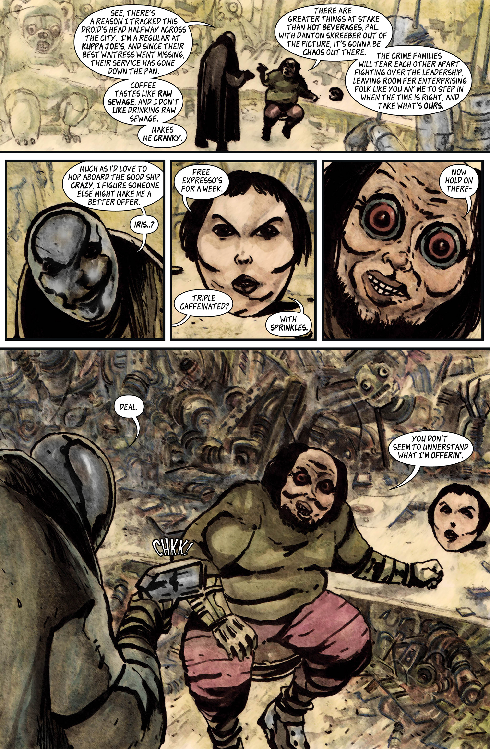 Read online 100% Biodegradable comic -  Issue #12 - 28