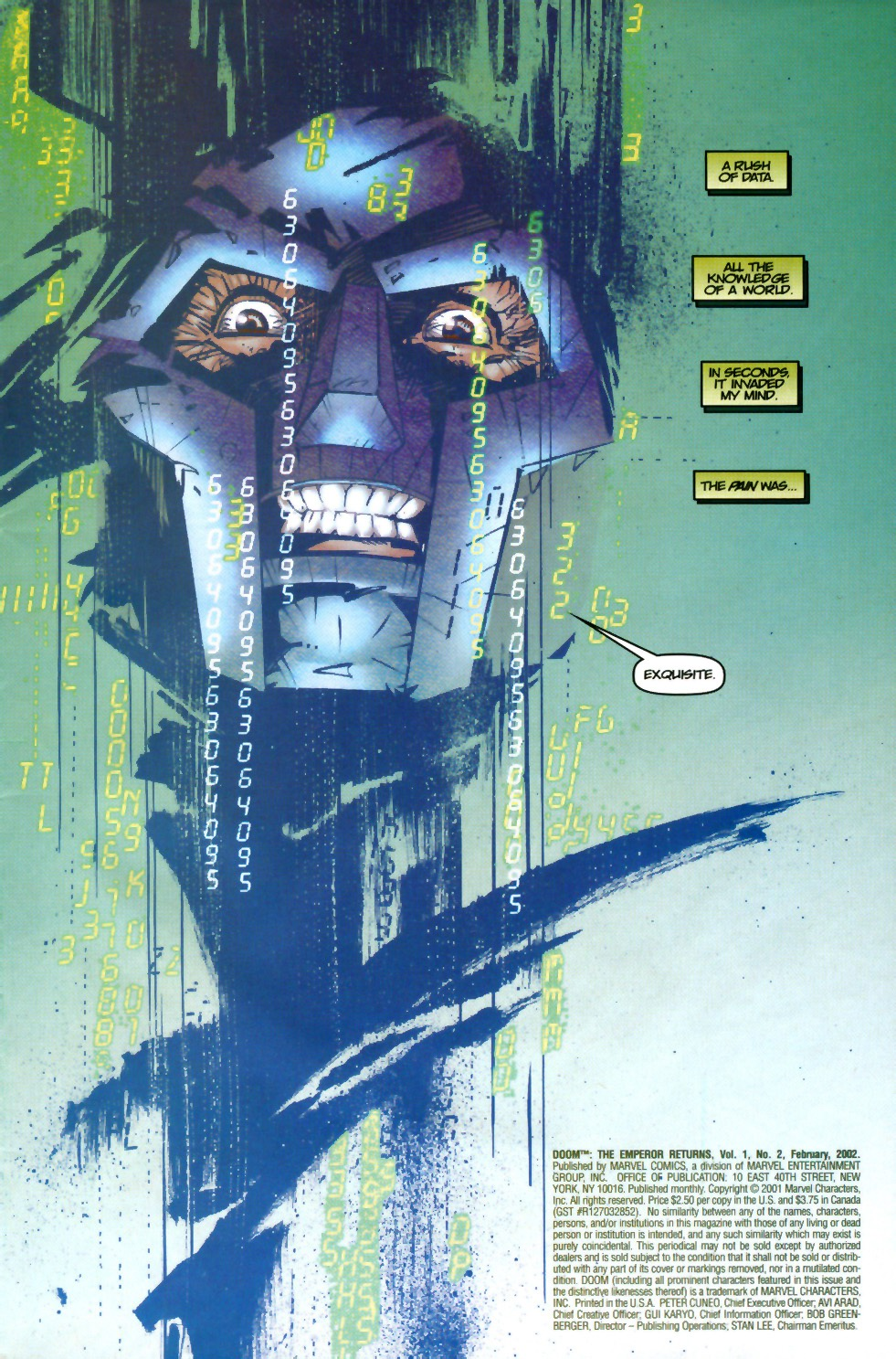 Read online Doom: The Emperor Returns comic -  Issue #1 - 2