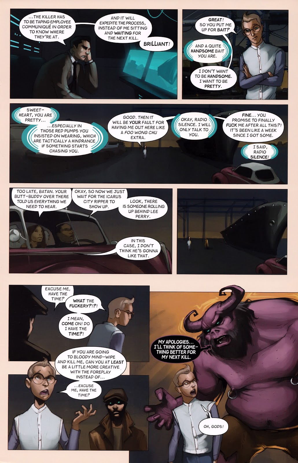 Read online Vescell comic -  Issue #6 - 21