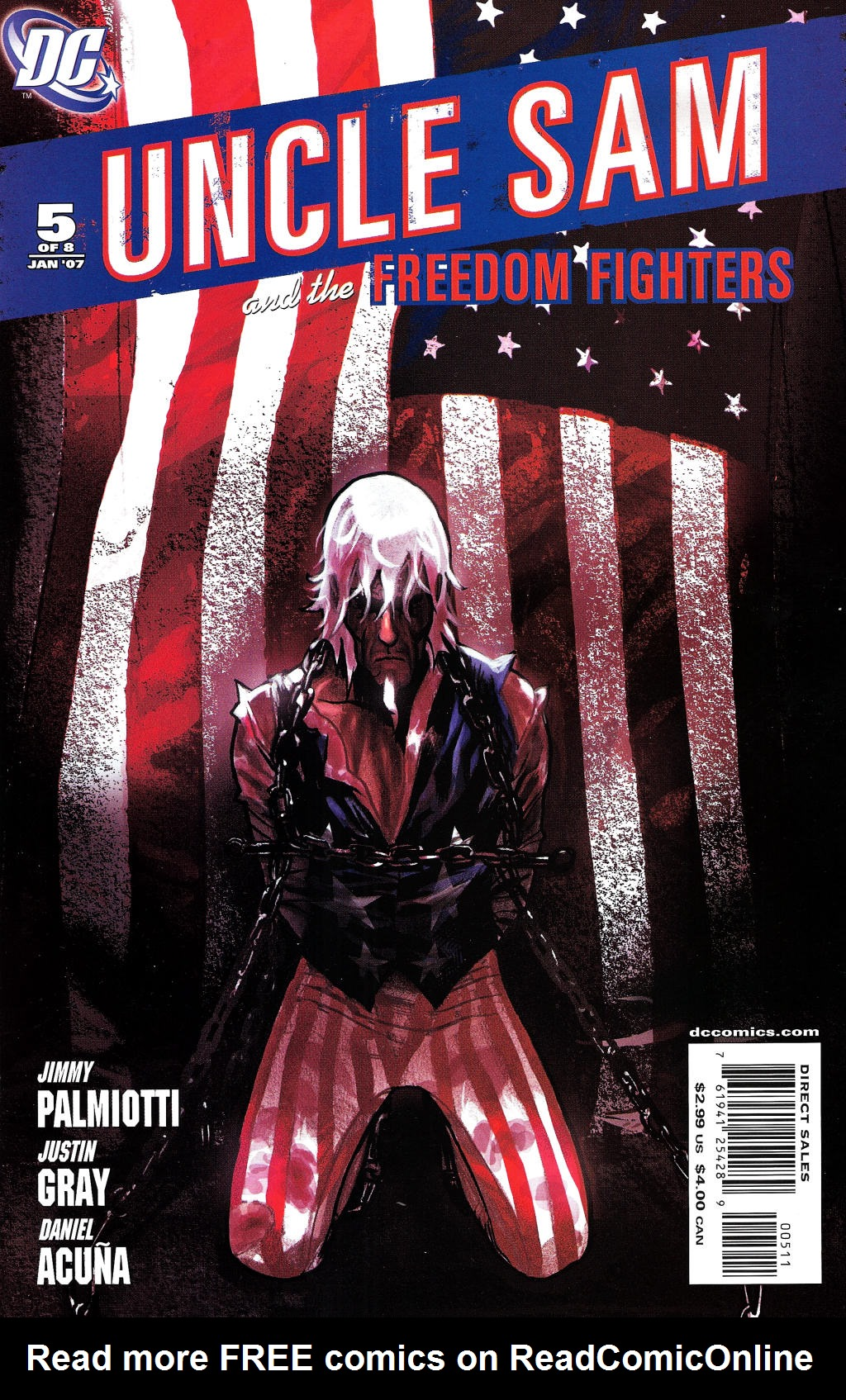 Read online Uncle Sam and the Freedom Fighters (2006) comic -  Issue #5 - 2