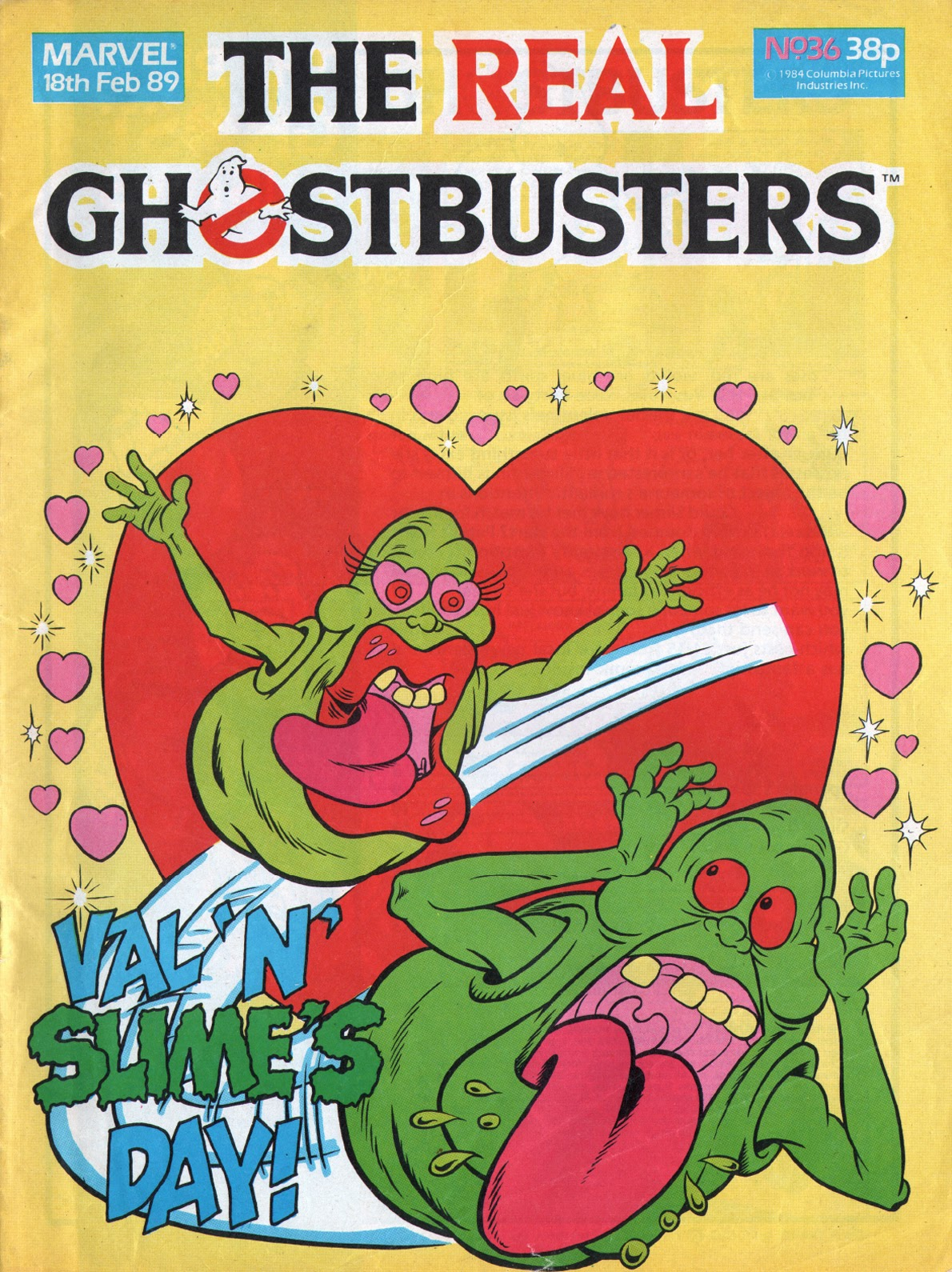 The Real Ghostbusters 36 Page 1
