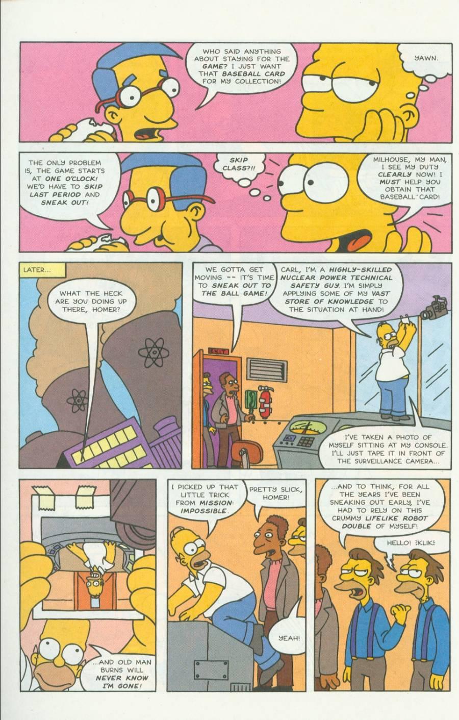 Read online Simpsons Comics comic -  Issue #4 - 5