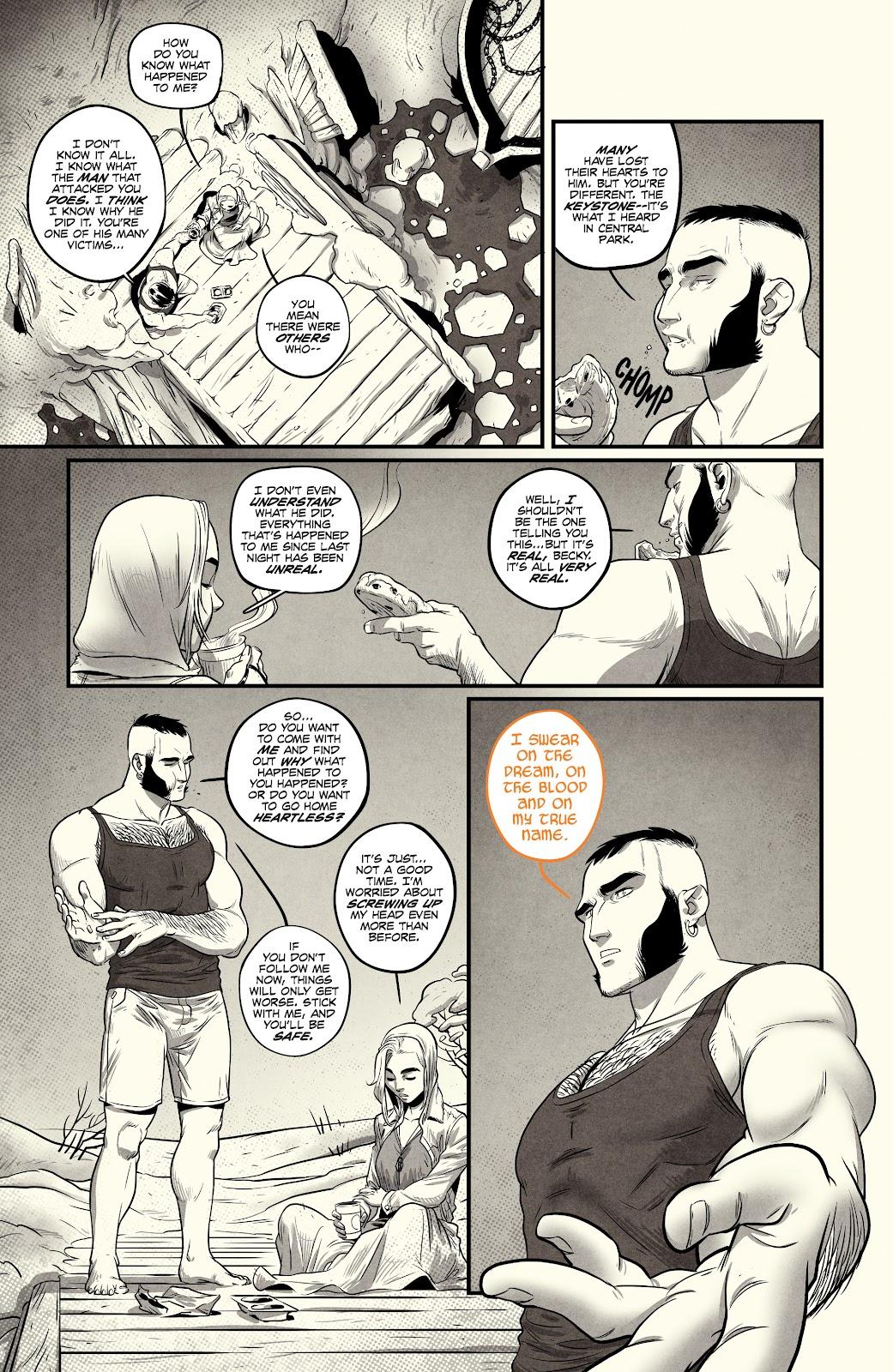 Read online Nomen Omen comic -  Issue #3 - 11