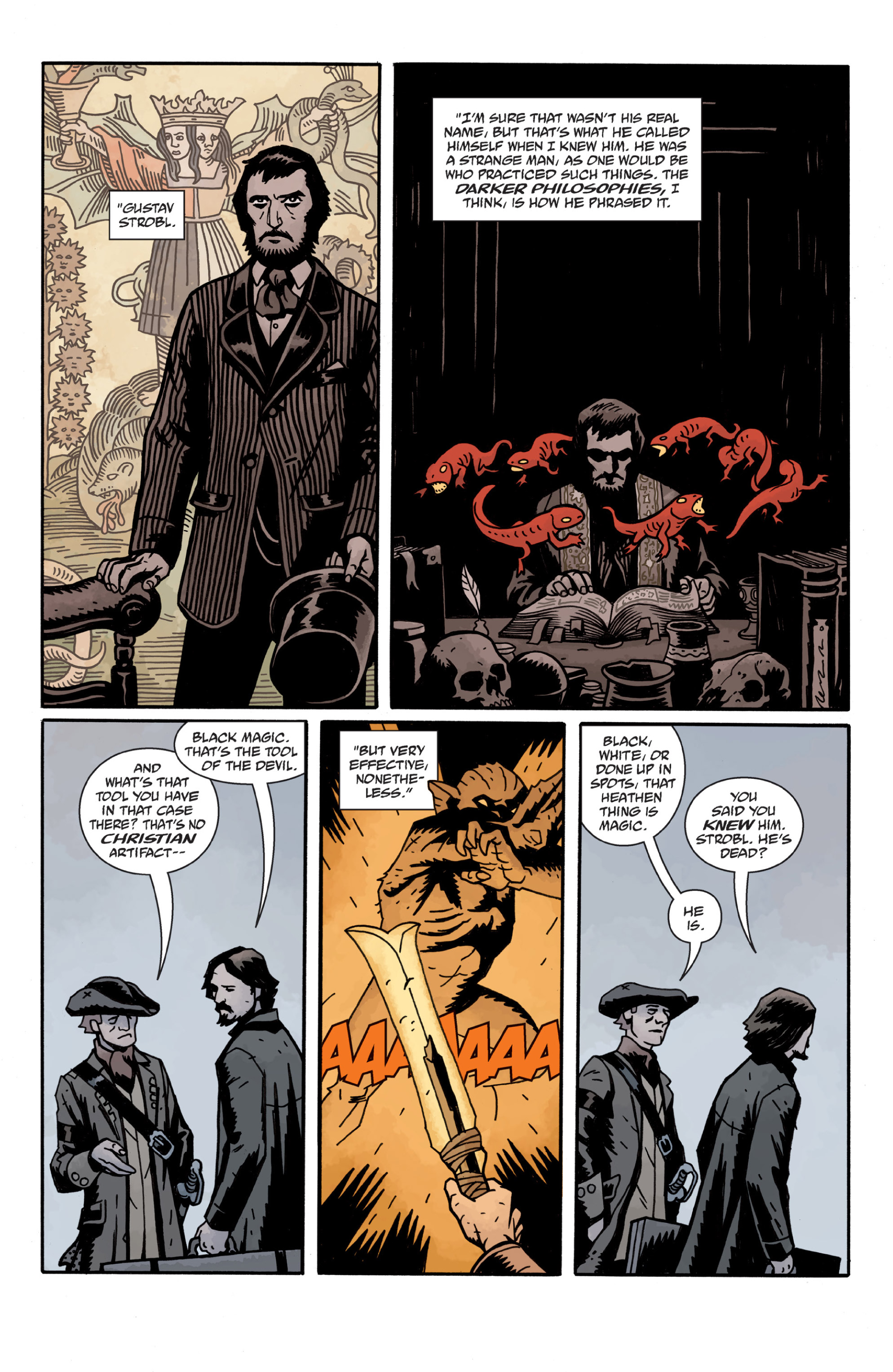 Read online Sir Edward Grey, Witchfinder: In the Service of Angels comic -  Issue # TPB - 98