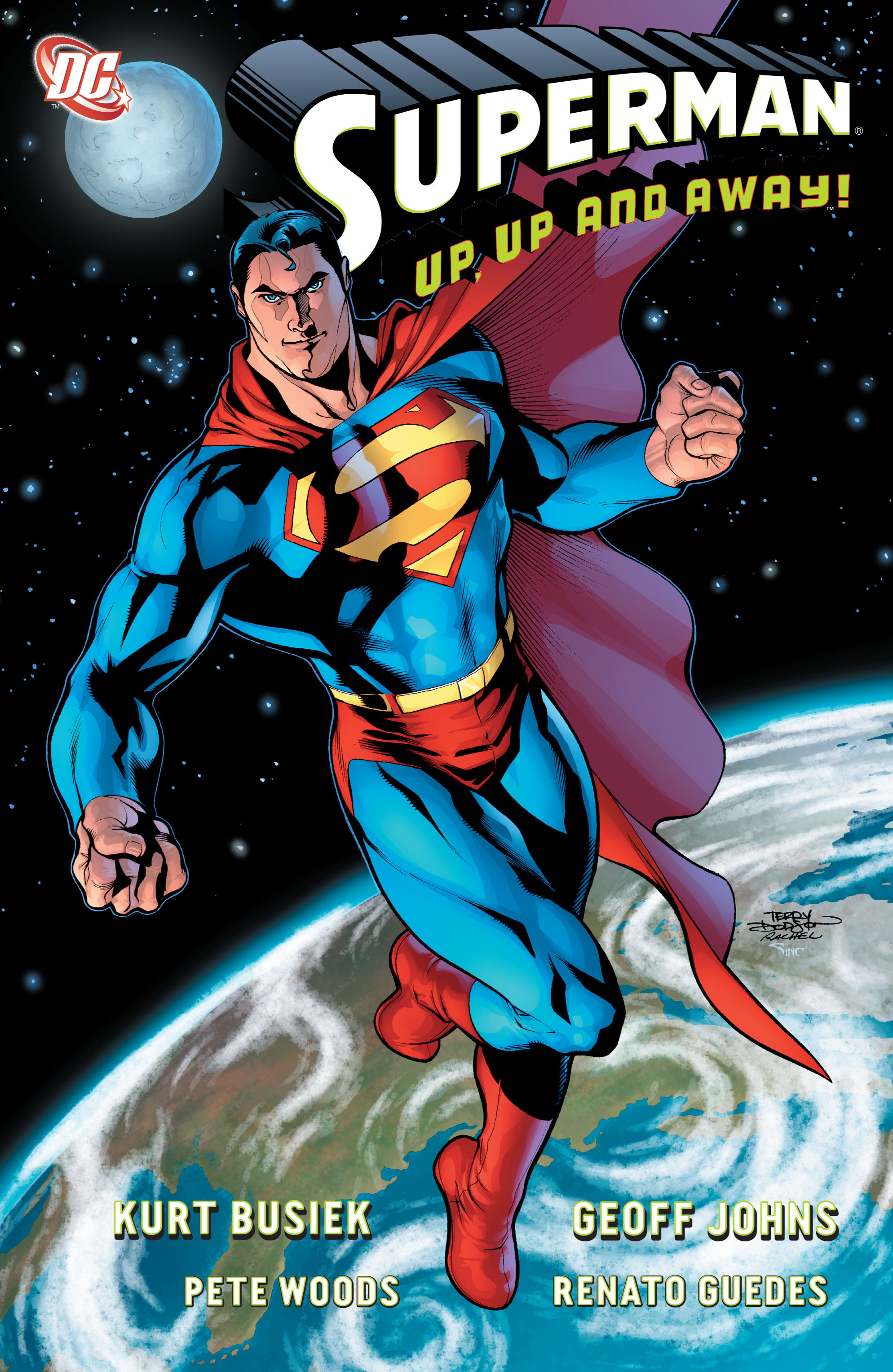 Superman: Up, Up and Away! Full Page 1