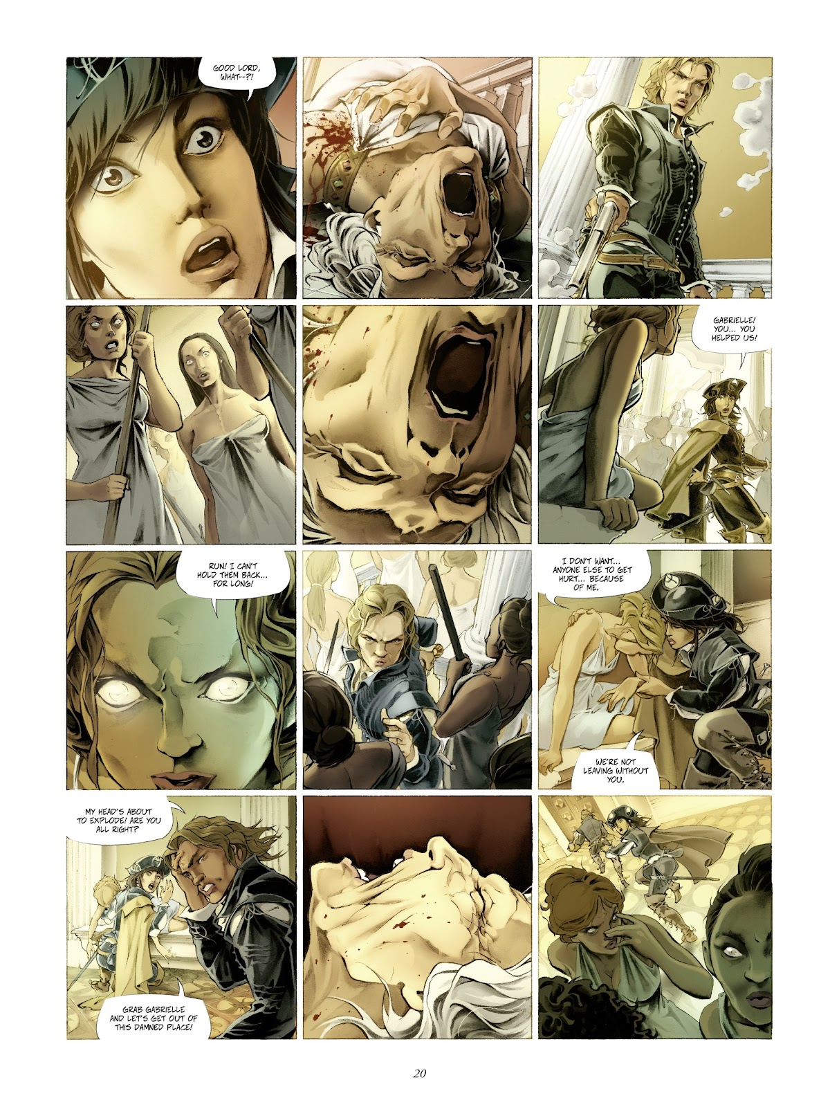 Read online Arthus Trivium comic -  Issue #4 - 22