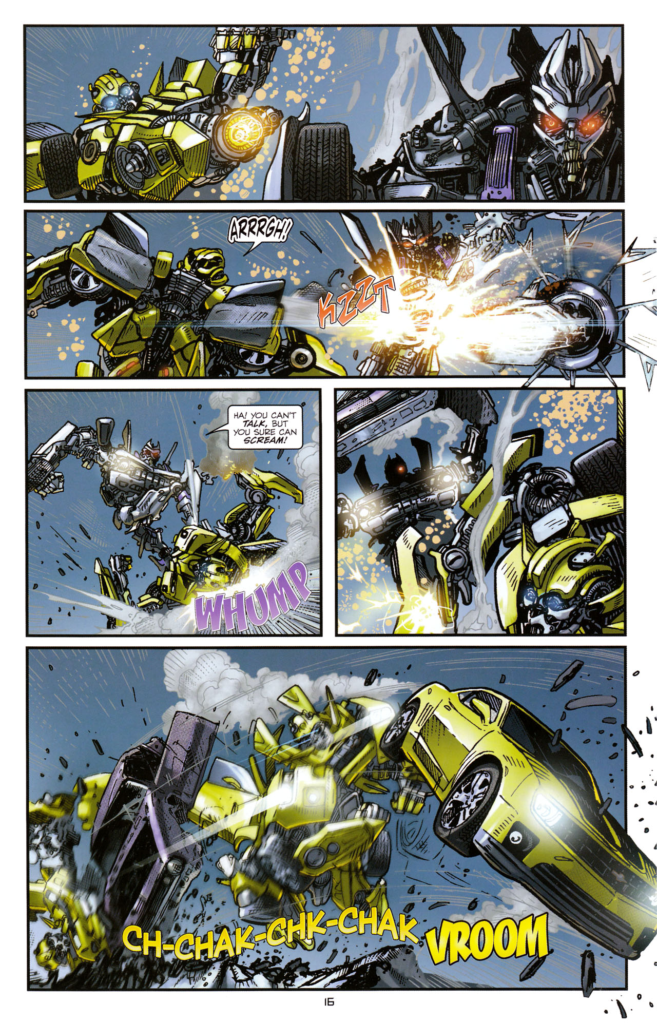 Read online Transformers: Tales of The Fallen comic -  Issue #1 - 18