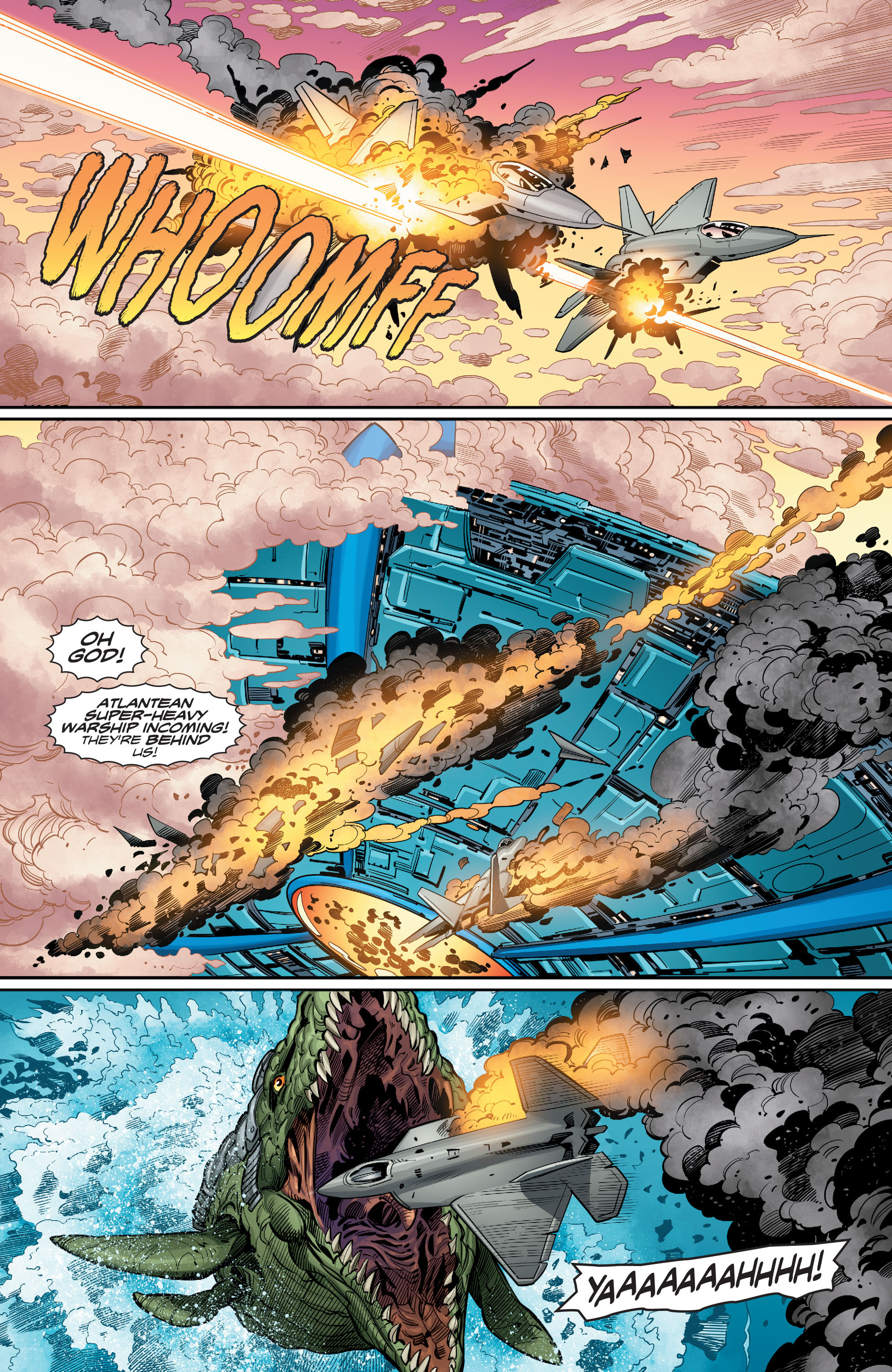 Read online Aquaman (2016) comic -  Issue #12 - 19