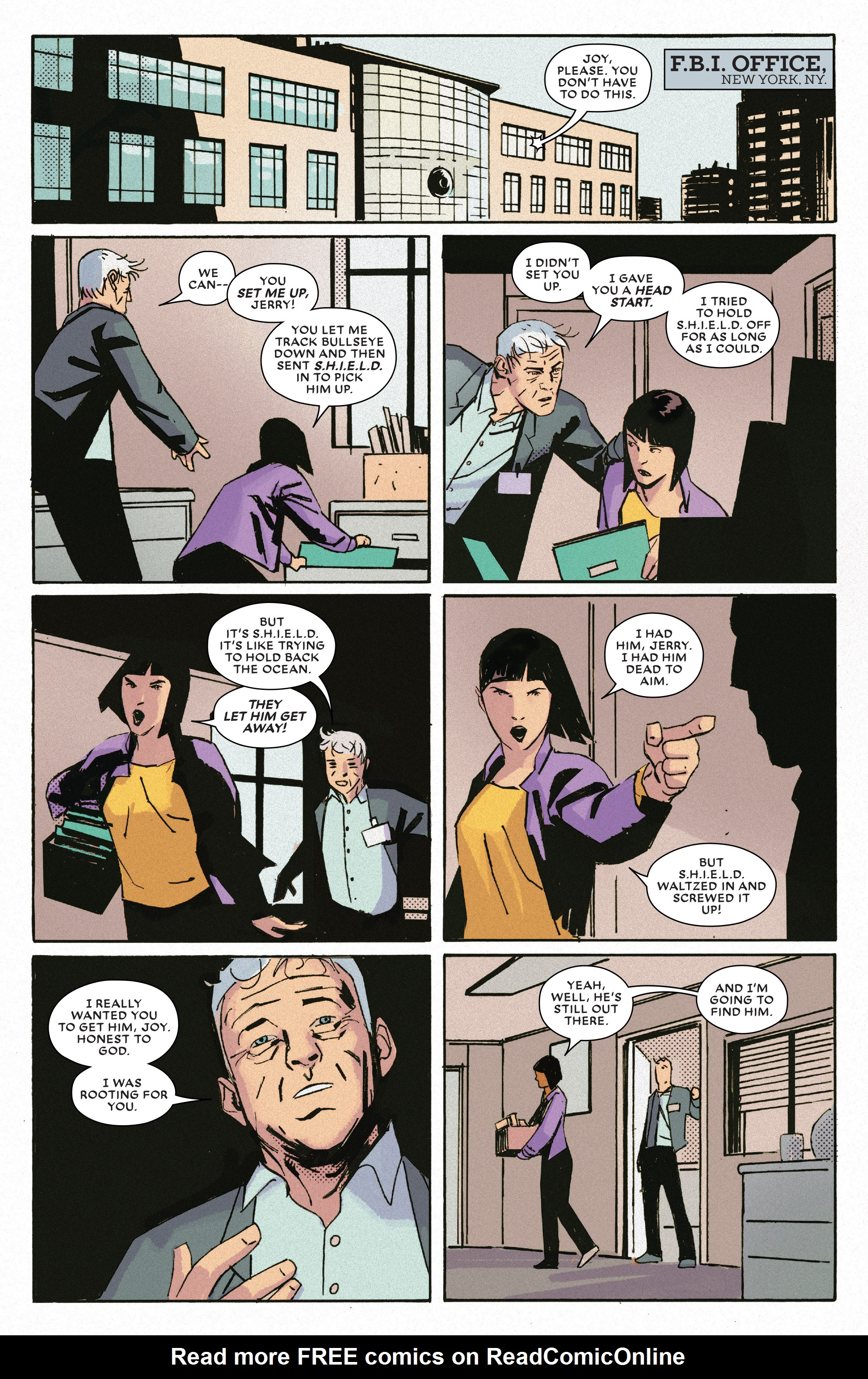 Read online Bullseye comic -  Issue #5 - 17