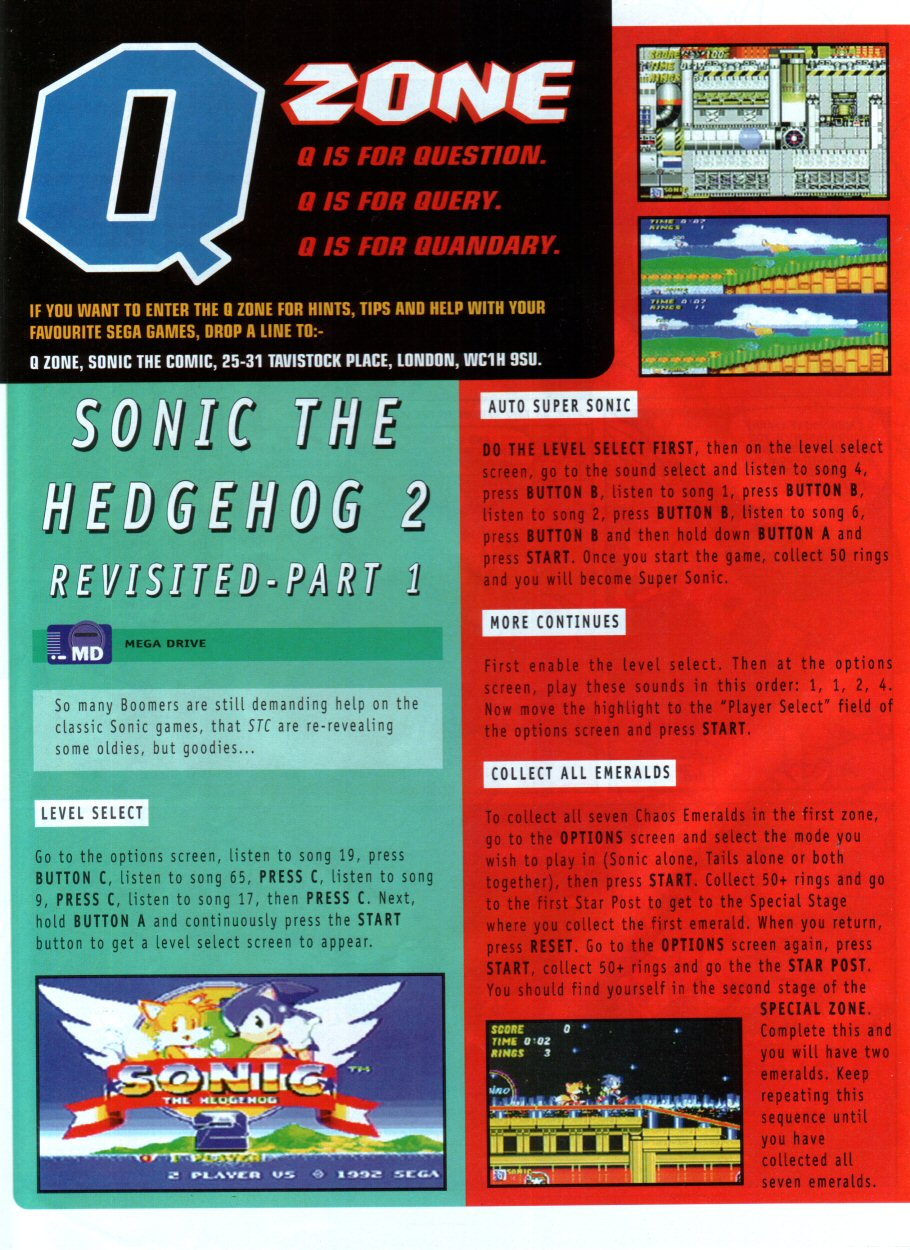 Read online Sonic the Comic comic -  Issue #86 - 21