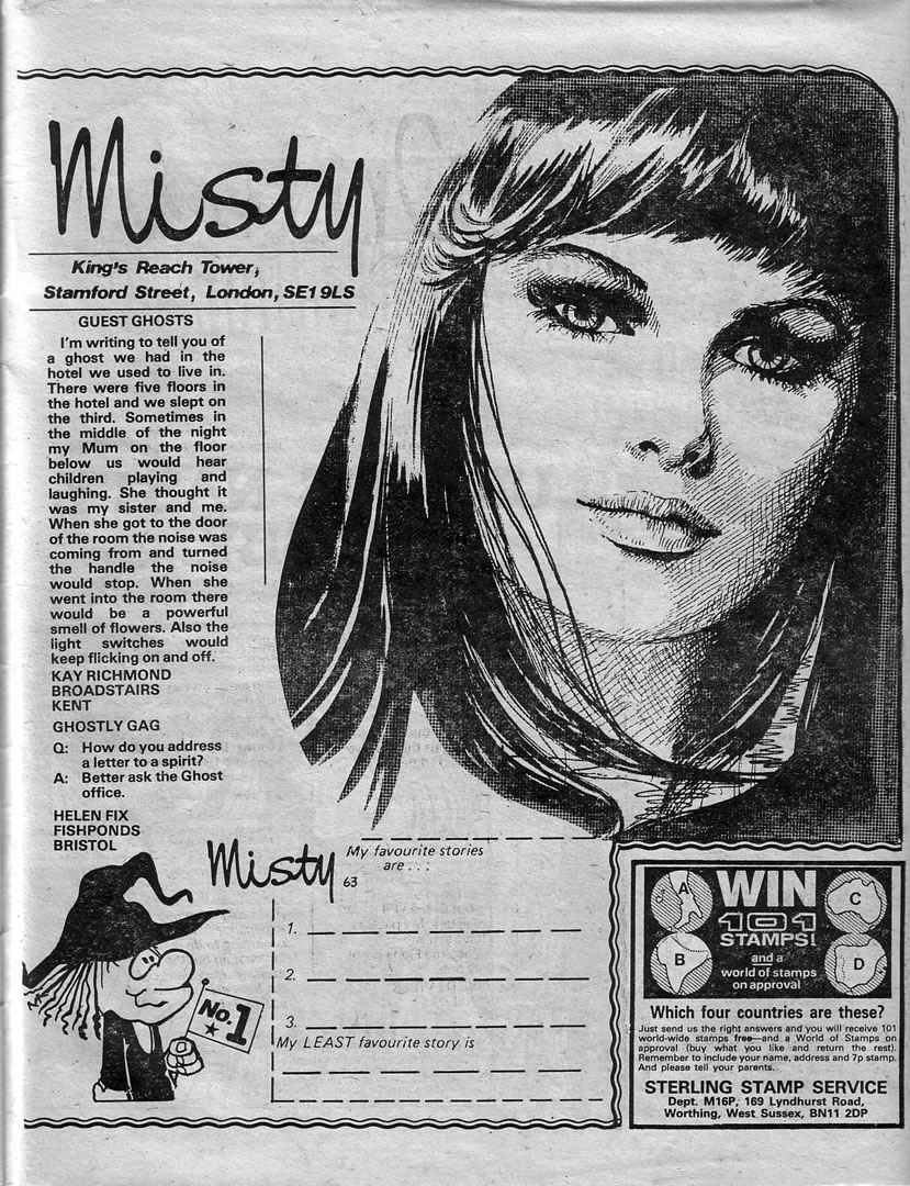 Read online Misty comic -  Issue #63 - 27