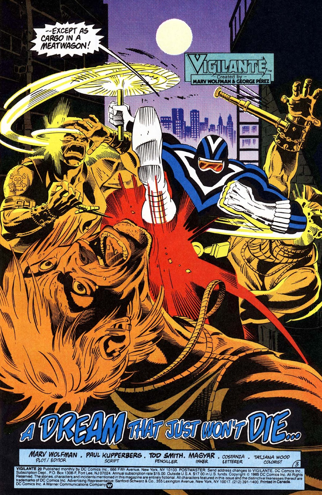 Vigilante (1983) issue 20 - Page 4