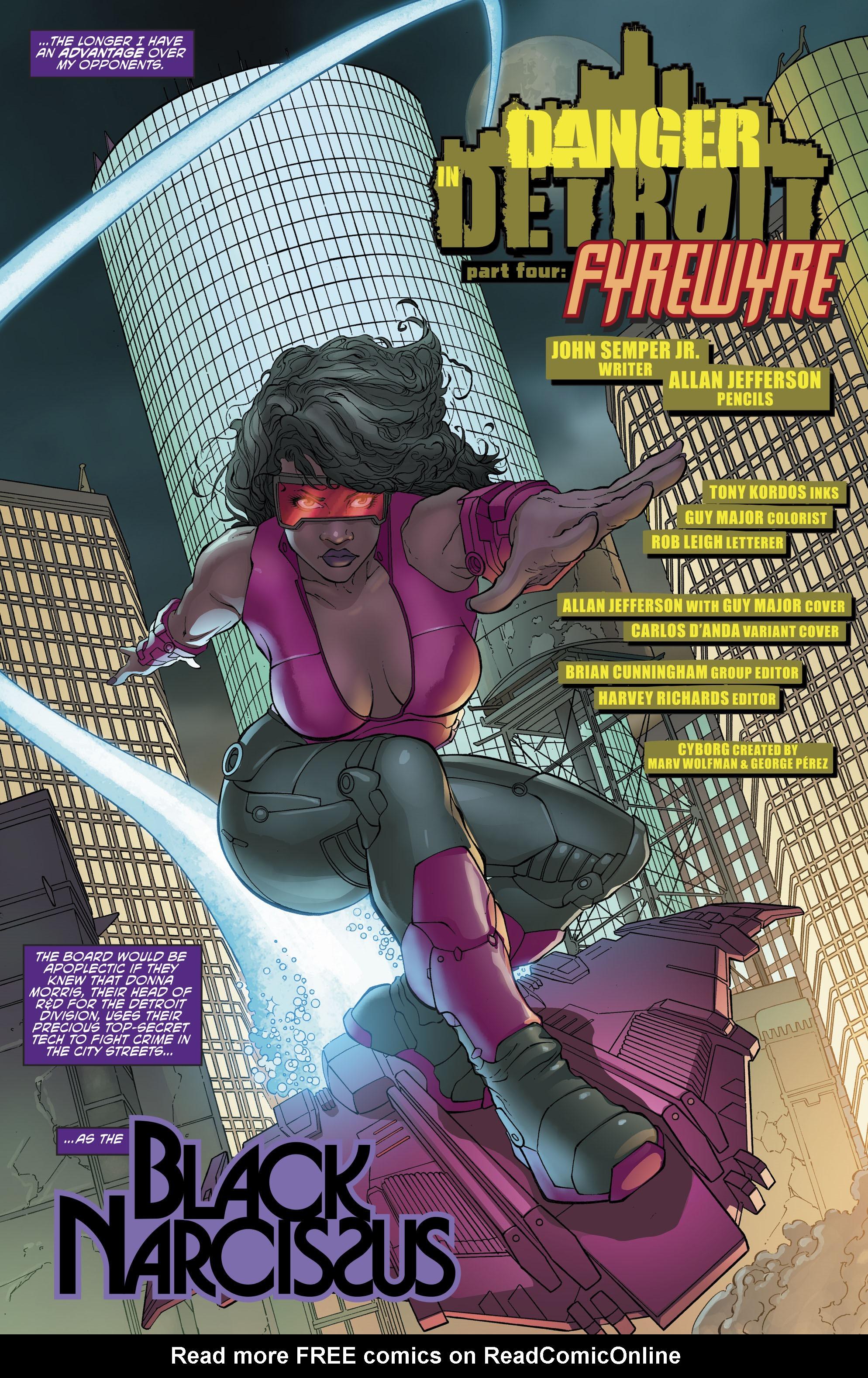Read online Cyborg (2016) comic -  Issue #13 - 5