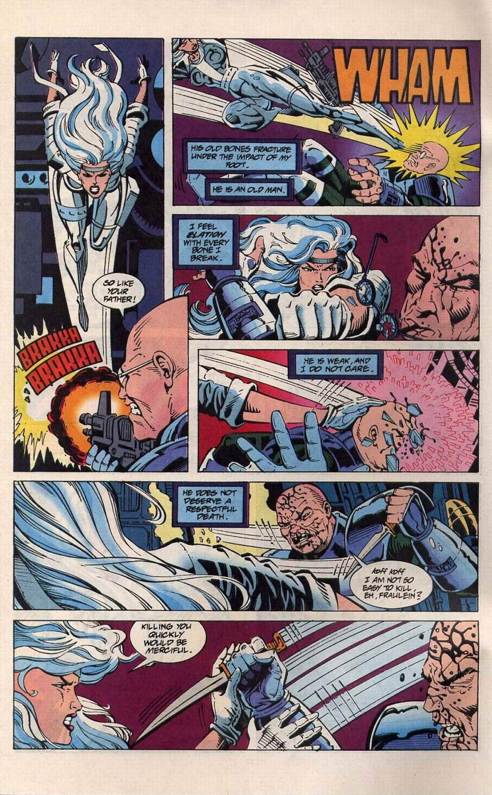 Read online Silver Sable and the Wild Pack comic -  Issue #25 - 27