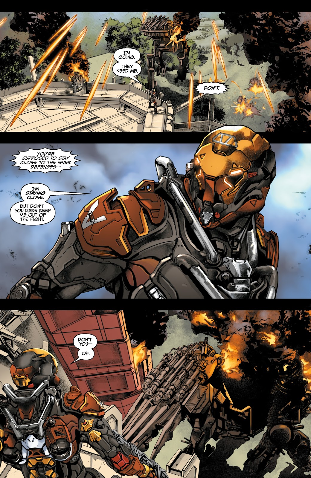 Read online Anthem comic -  Issue #3 - 7