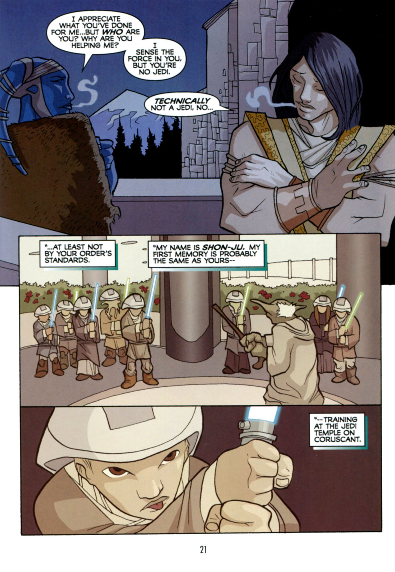 Read online Star Wars: The Clone Wars - Deadly Hands of Shon-Ju comic -  Issue # Full - 22