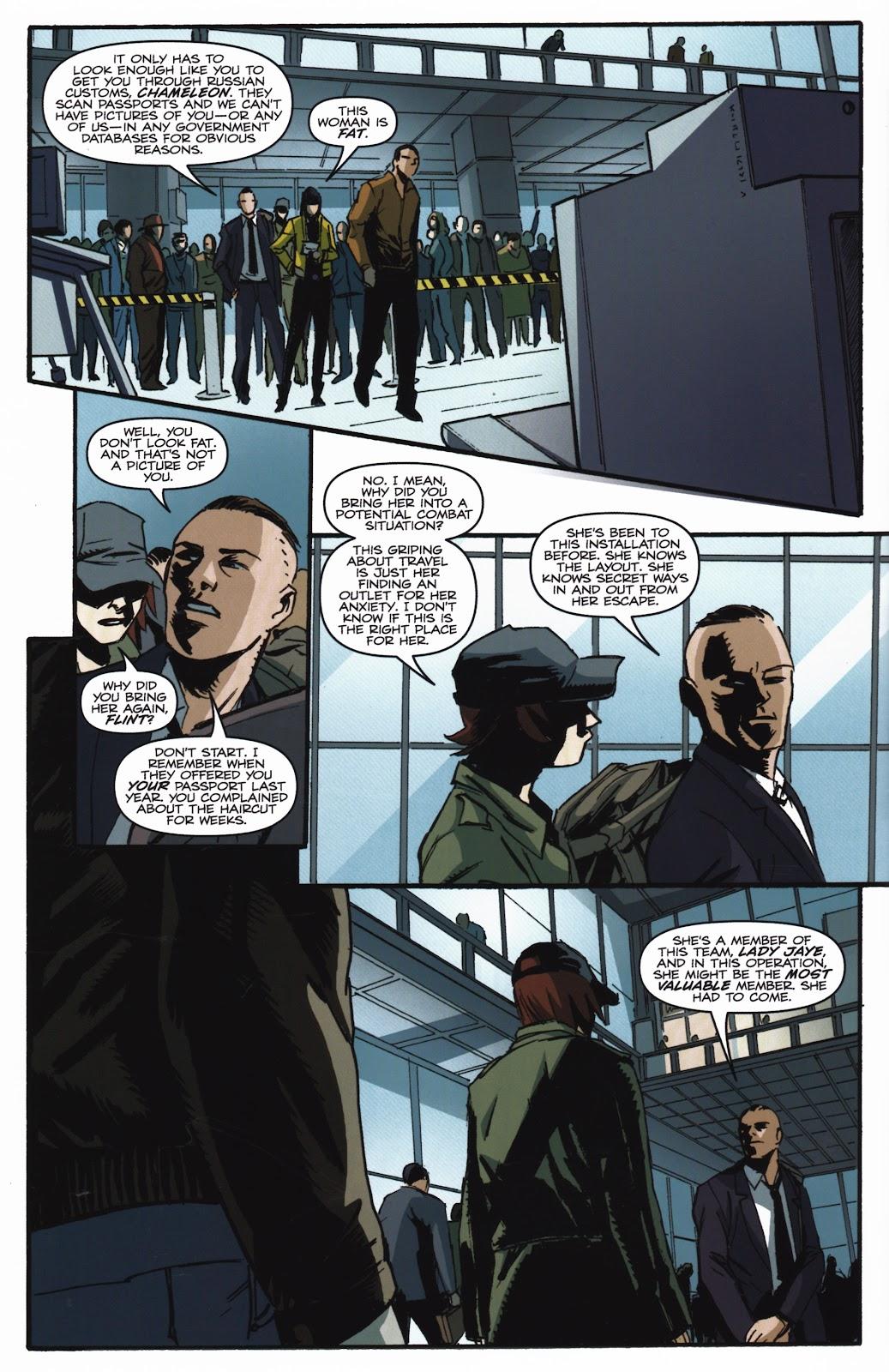 G.I. Joe Cobra (2011) Issue #20 #20 - English 4