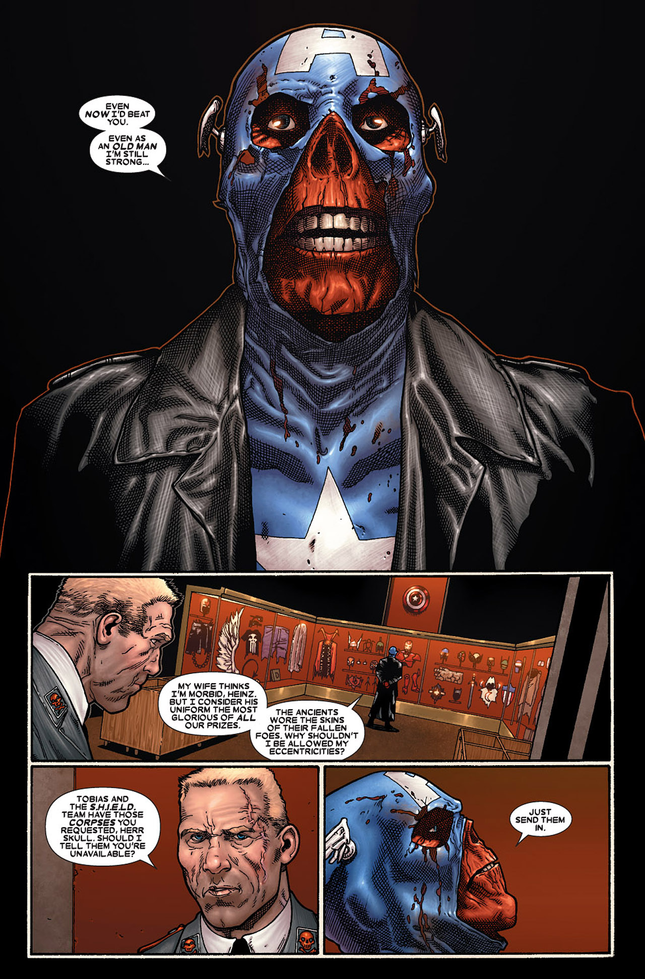 Read online Wolverine: Old Man Logan comic -  Issue # Full - 143