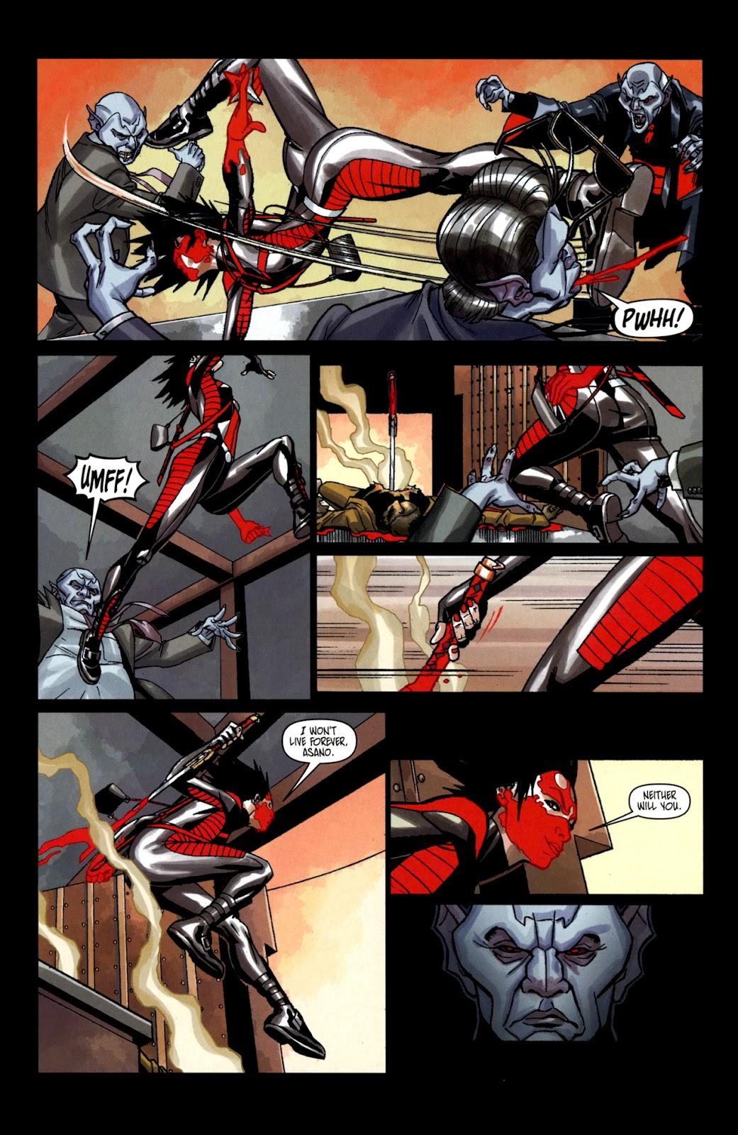 Read online Shinku comic -  Issue #2 - 20