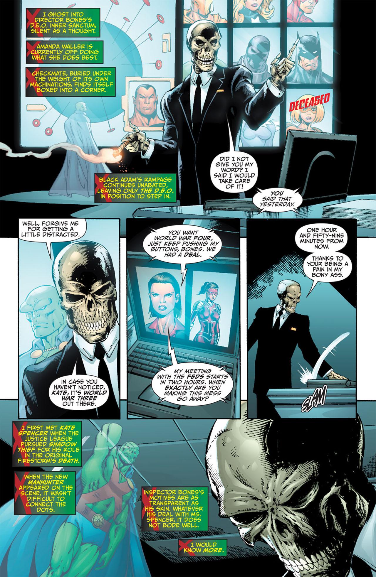 Read online World War III comic -  Issue #3 - 19