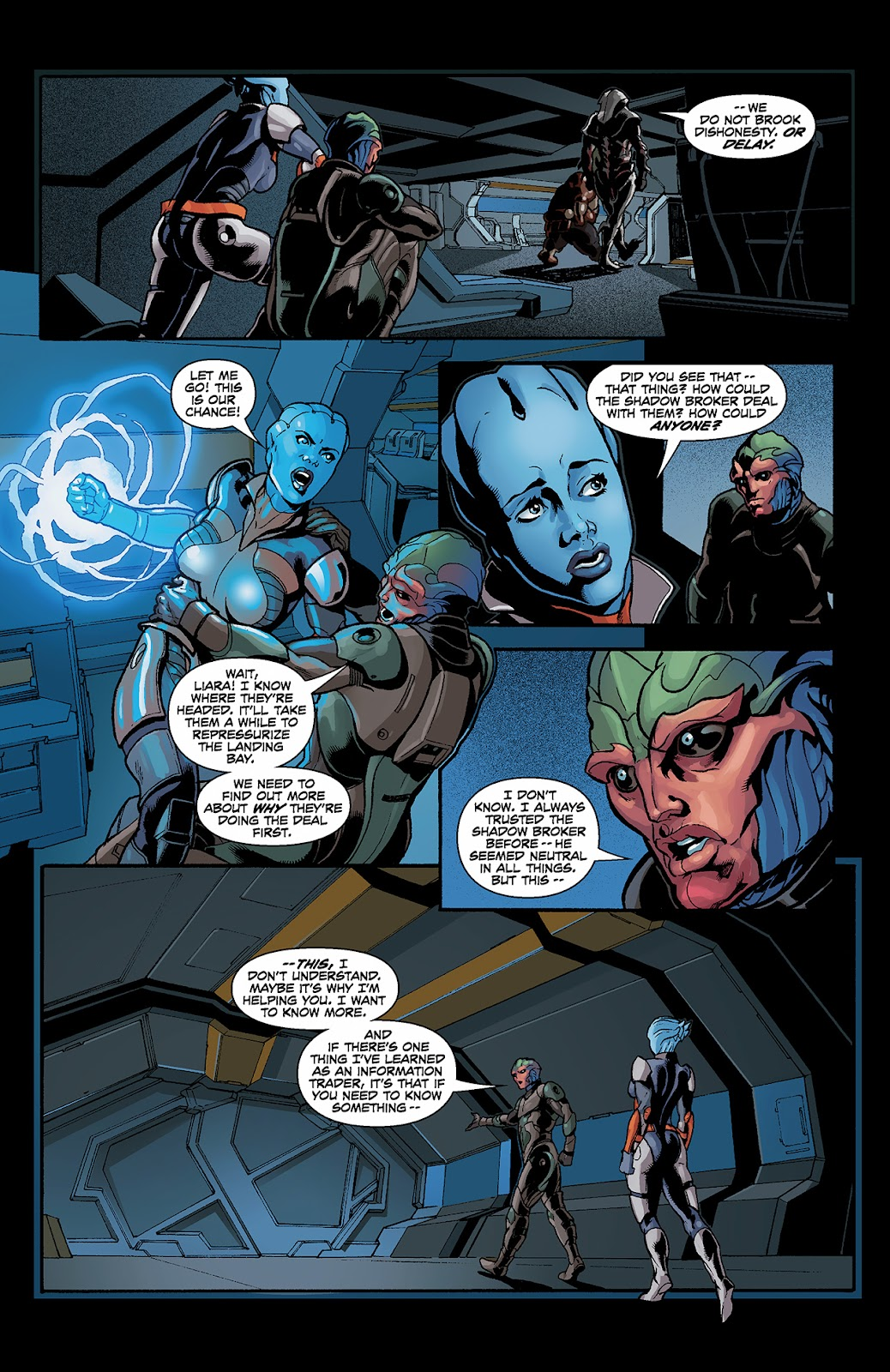 Mass Effect: Redemption Issue #3 #3 - English 17