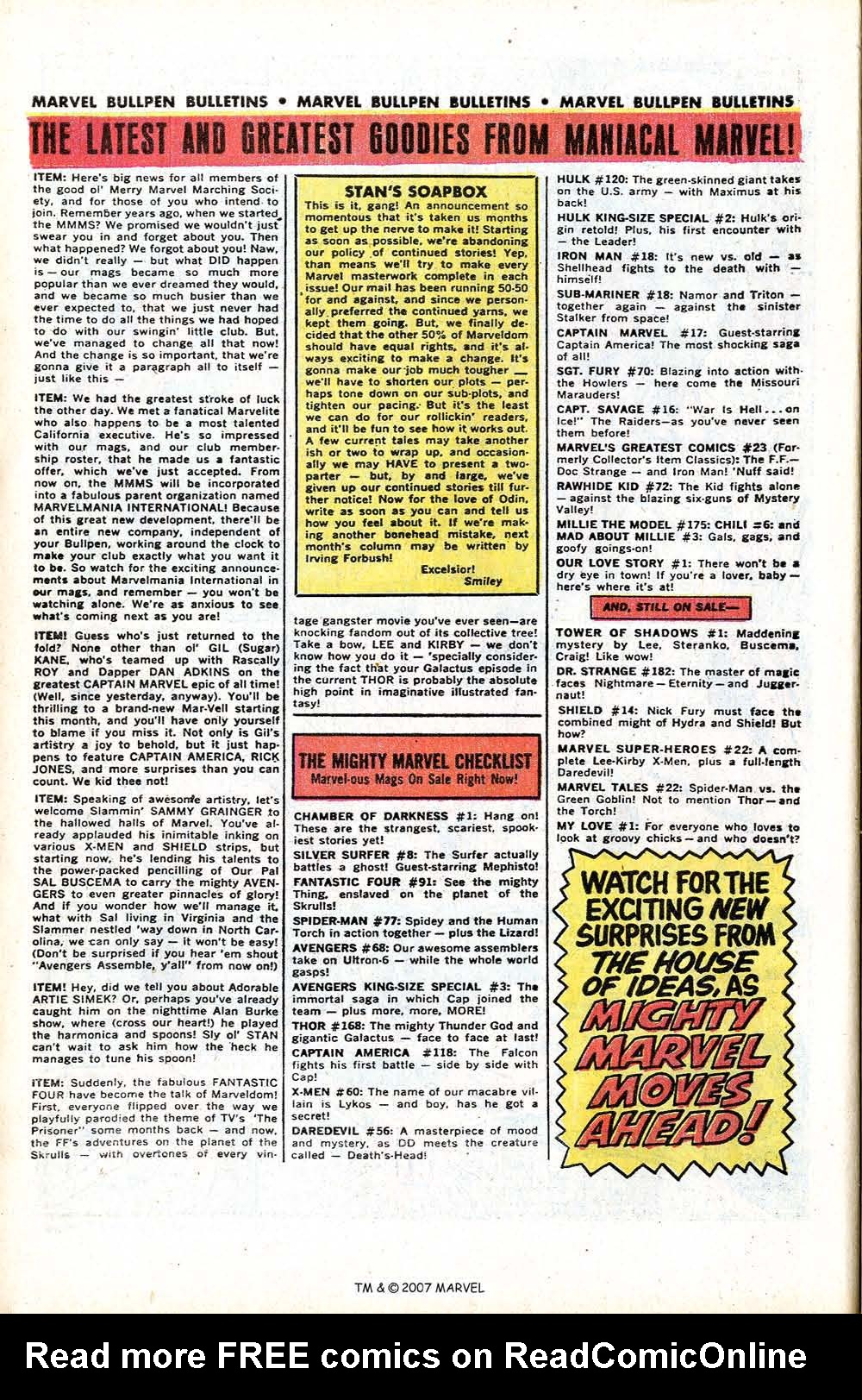 Read online Silver Surfer (1968) comic -  Issue #8 - 10