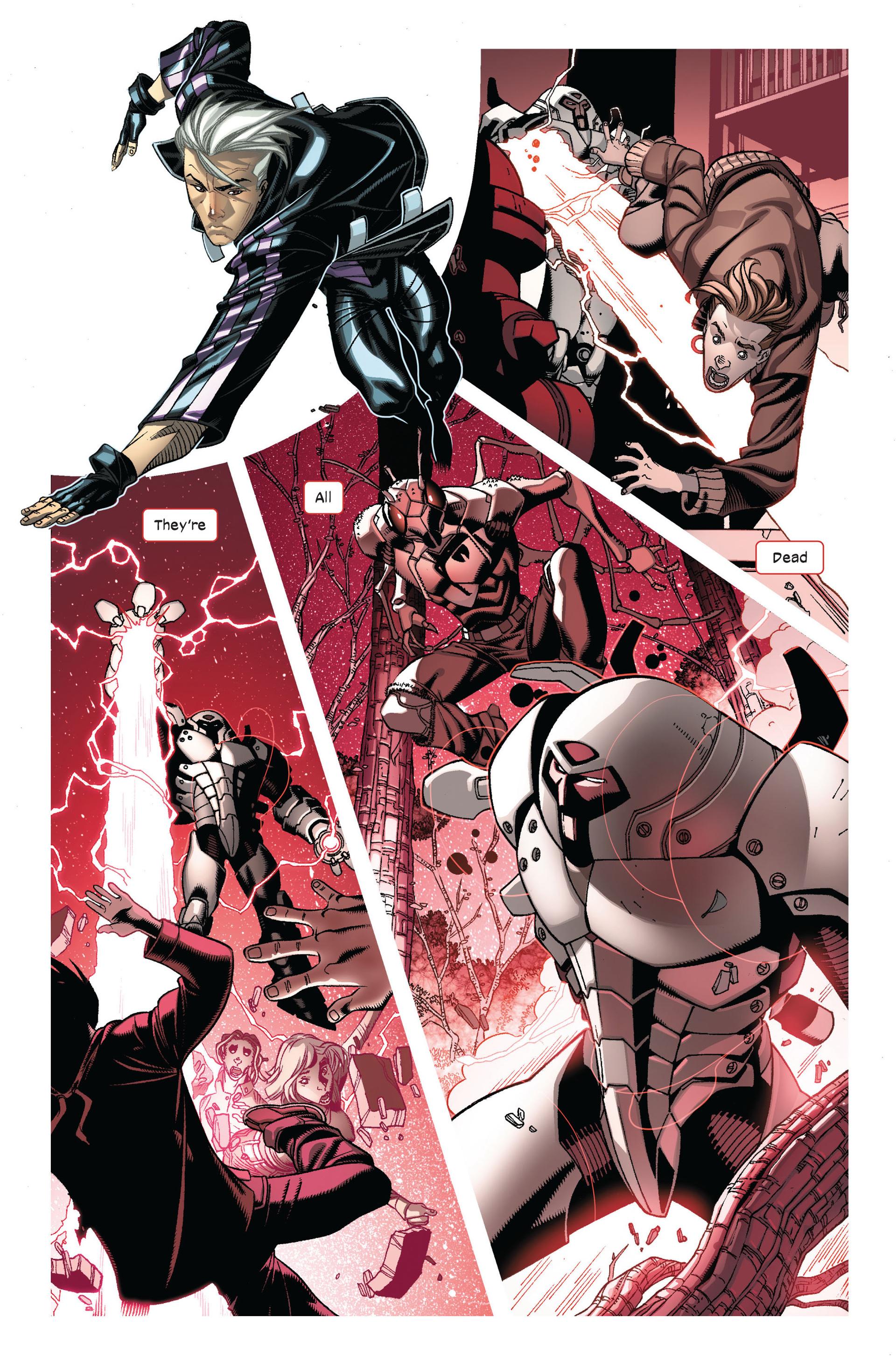 Read online Ultimate Comics X-Men comic -  Issue #7 - 7