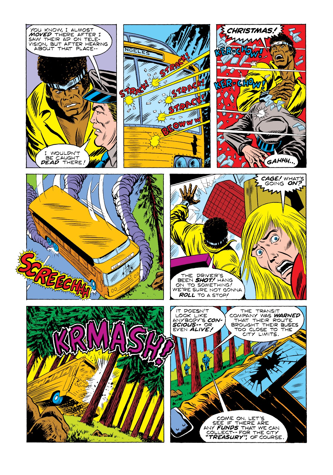 Read online Marvel Masterworks: Luke Cage, Power Man comic -  Issue # TPB 2 (Part 2) - 28