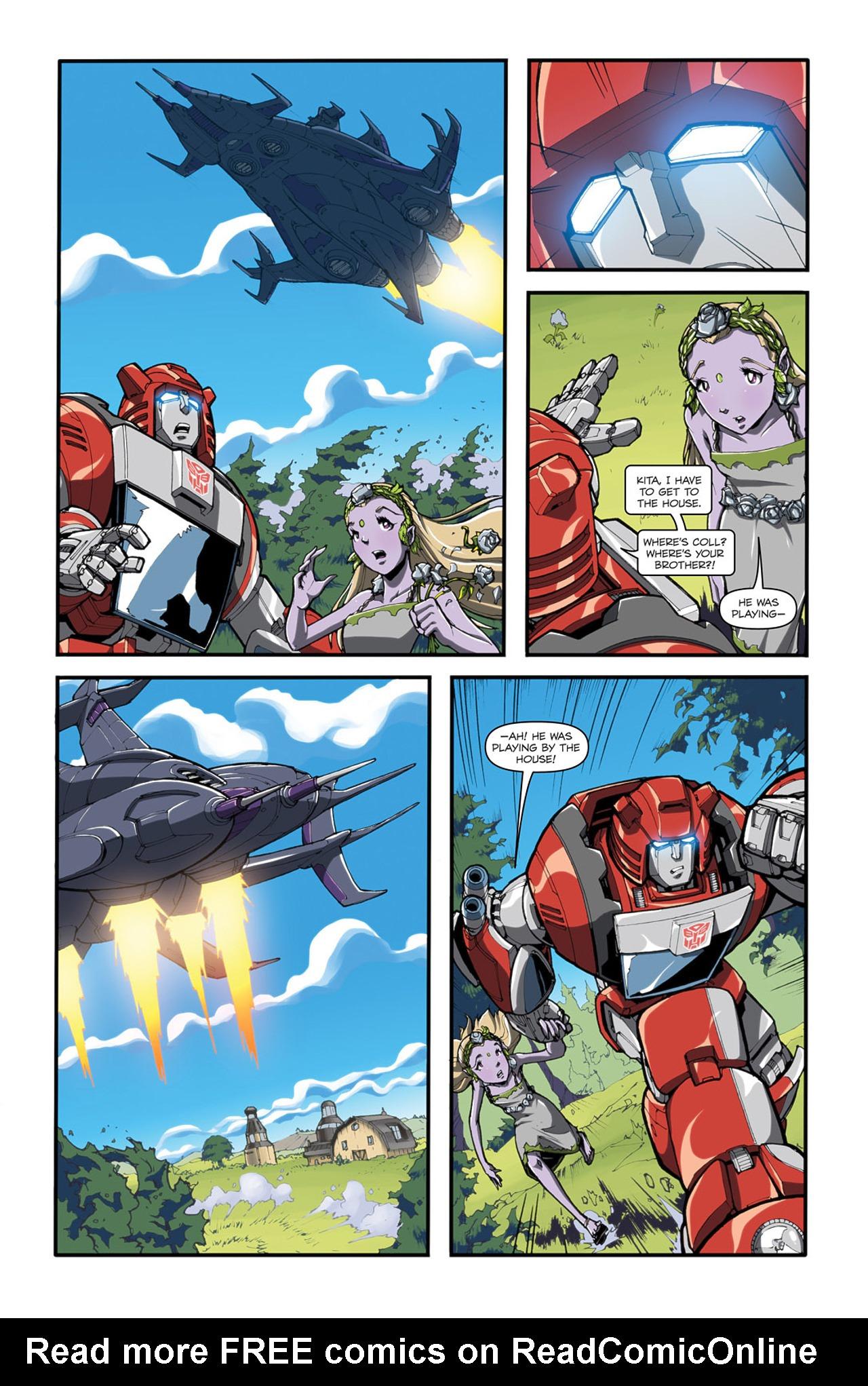 Read online Transformers Spotlight: Cliffjumper comic -  Issue # Full - 14