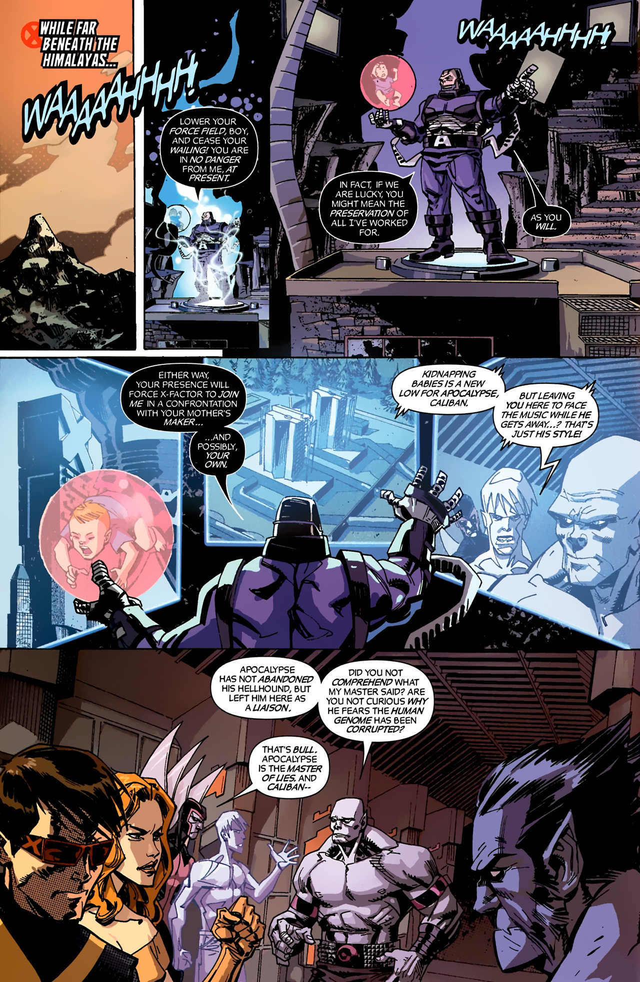 Read online X-Factor Forever comic -  Issue #4 - 5