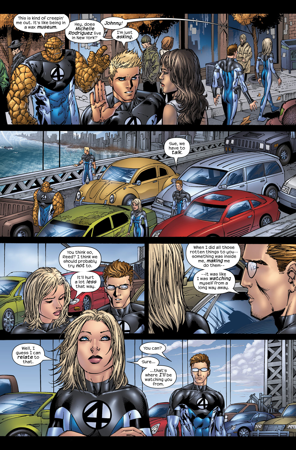 Read online Ultimate Fantastic Four (2004) comic -  Issue #50 - 9