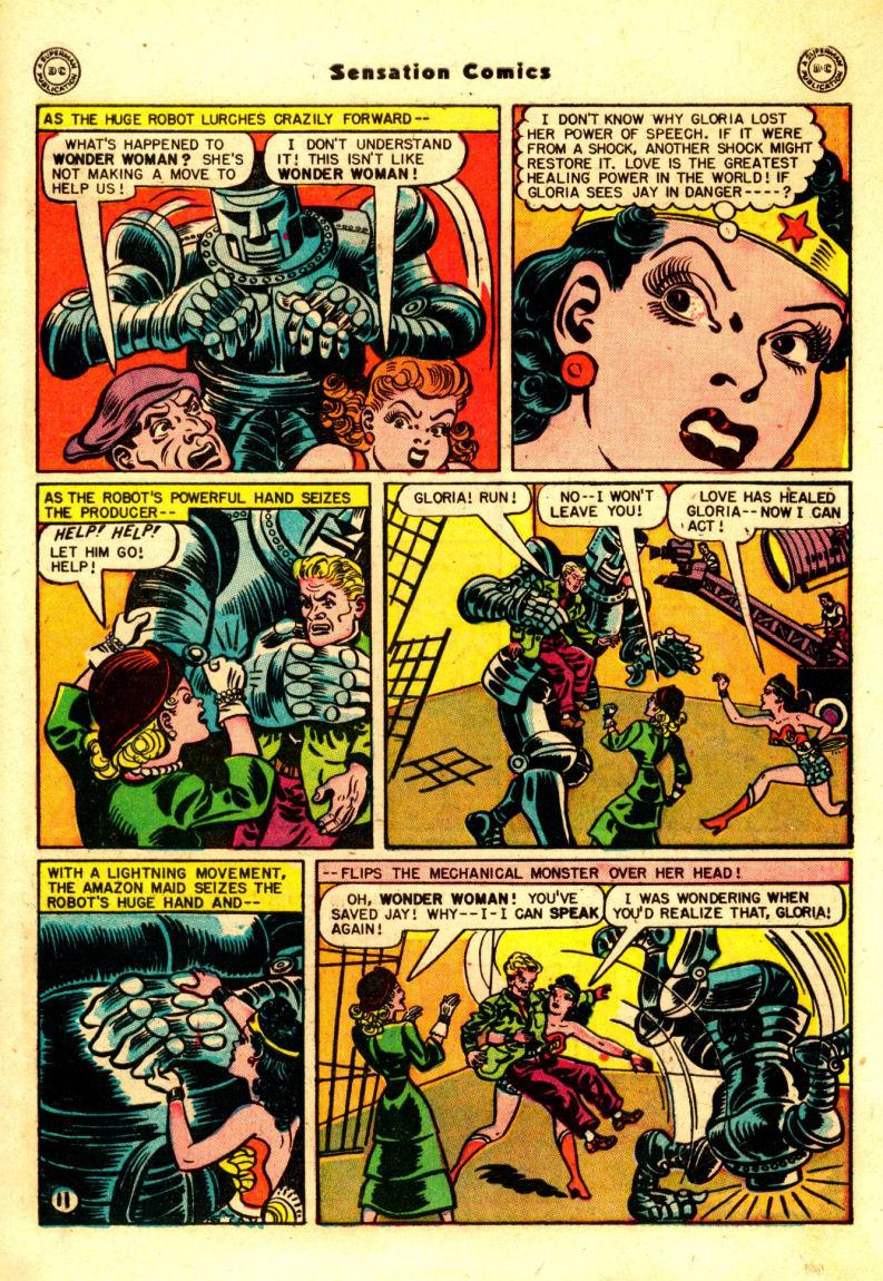 Read online Sensation (Mystery) Comics comic -  Issue #88 - 12