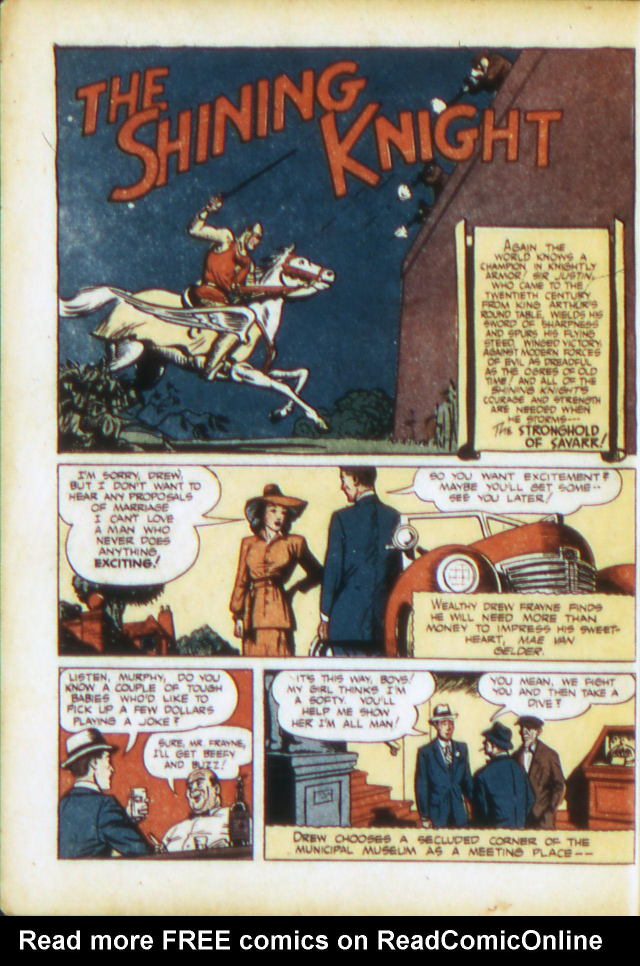 Read online Adventure Comics (1938) comic -  Issue #71 - 19