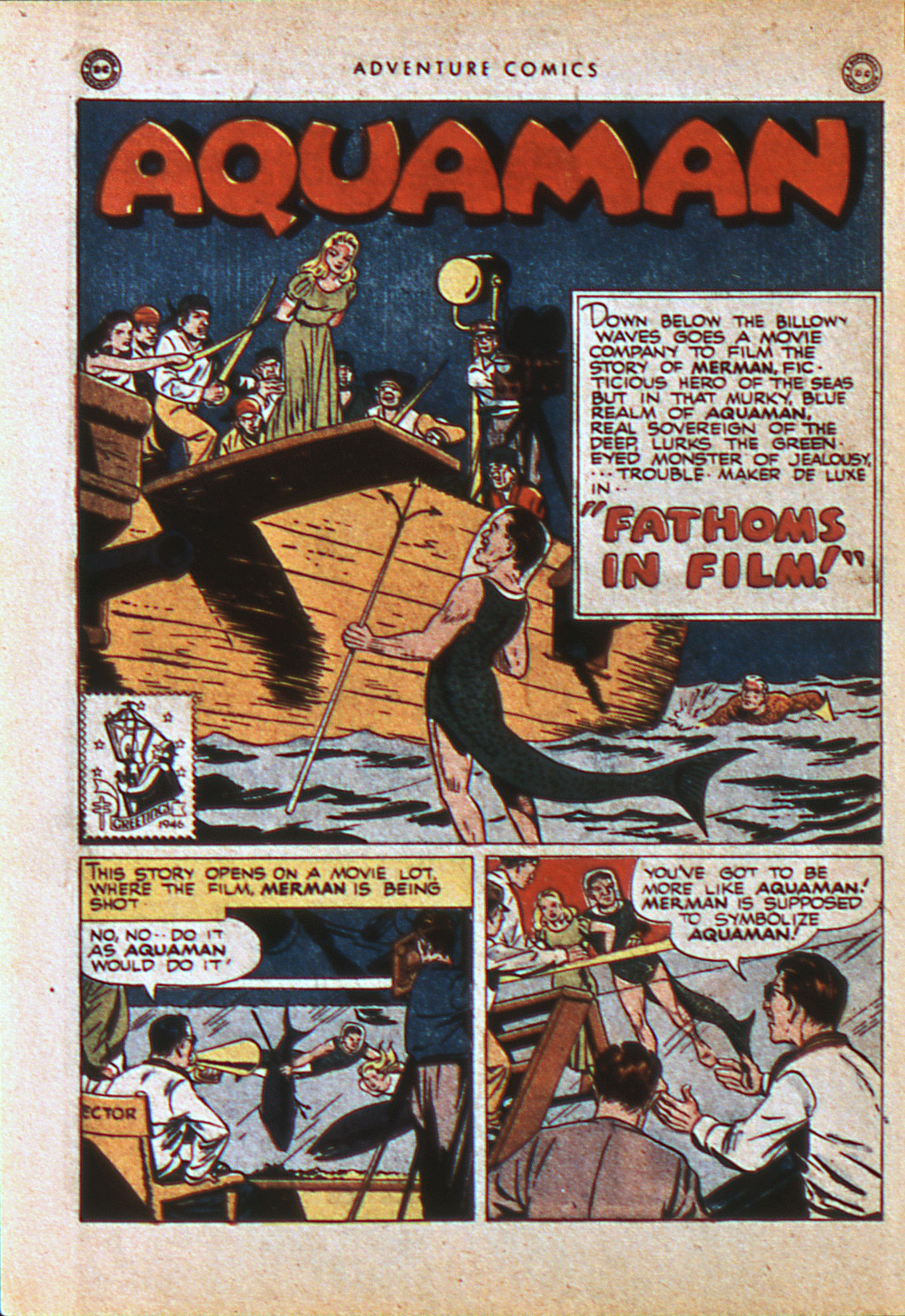 Read online Adventure Comics (1938) comic -  Issue #113 - 13