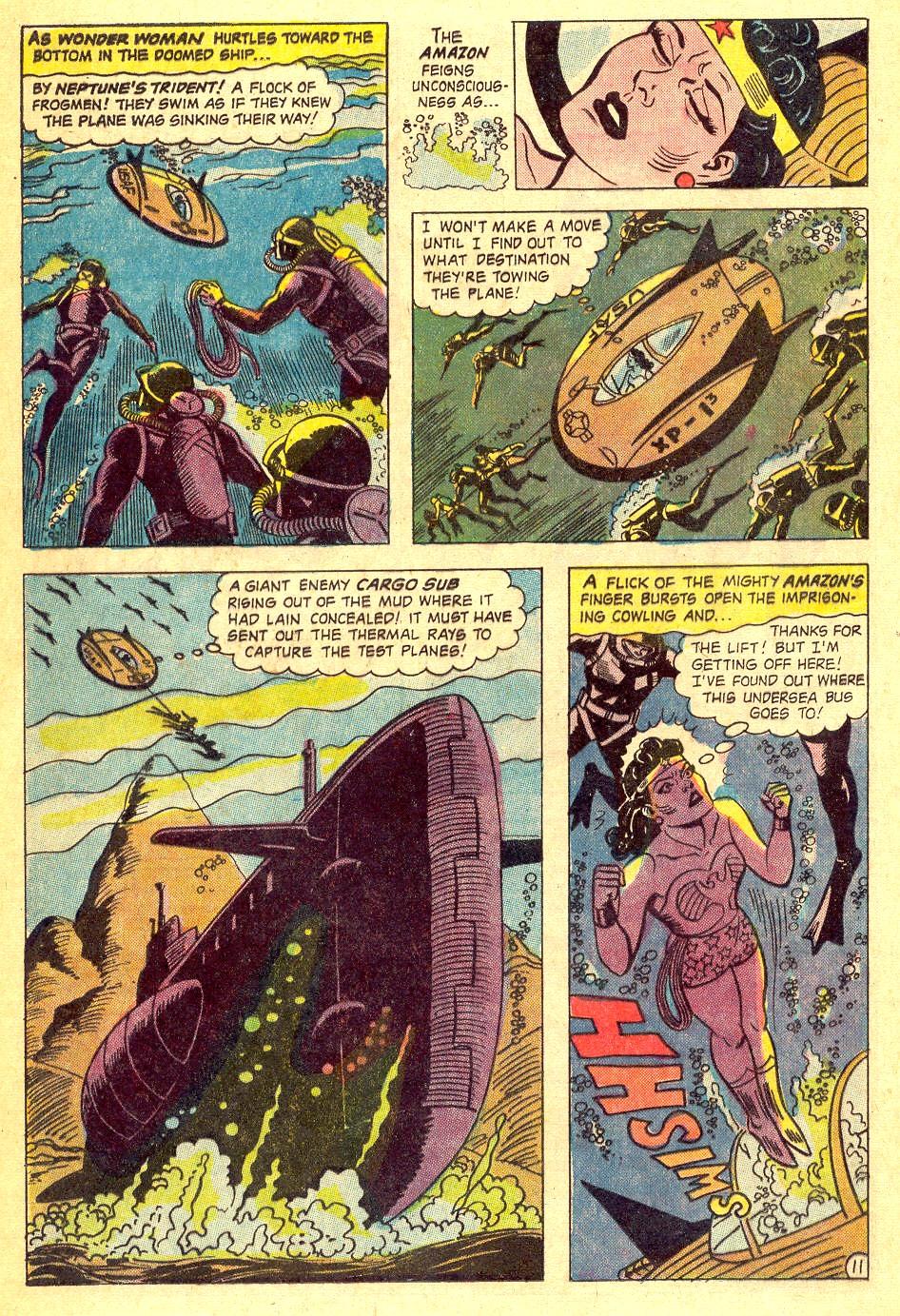 Read online Wonder Woman (1942) comic -  Issue #164 - 16
