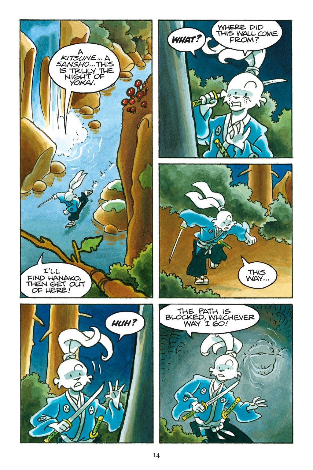 Read online Usagi Yojimbo: Yokai comic -  Issue # Full - 15