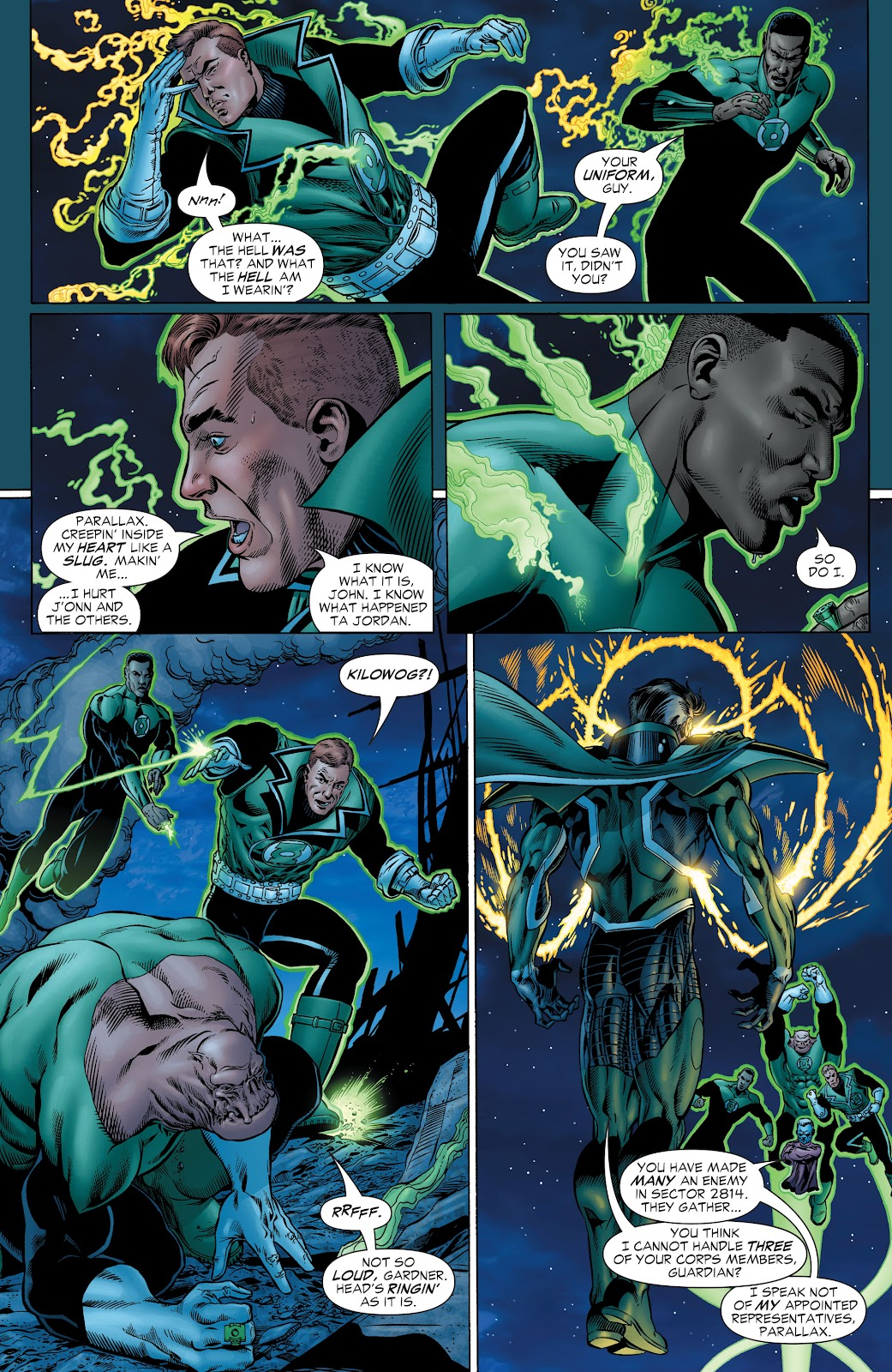 Read online Green Lantern by Geoff Johns comic -  Issue # TPB 1 (Part 1) - 97
