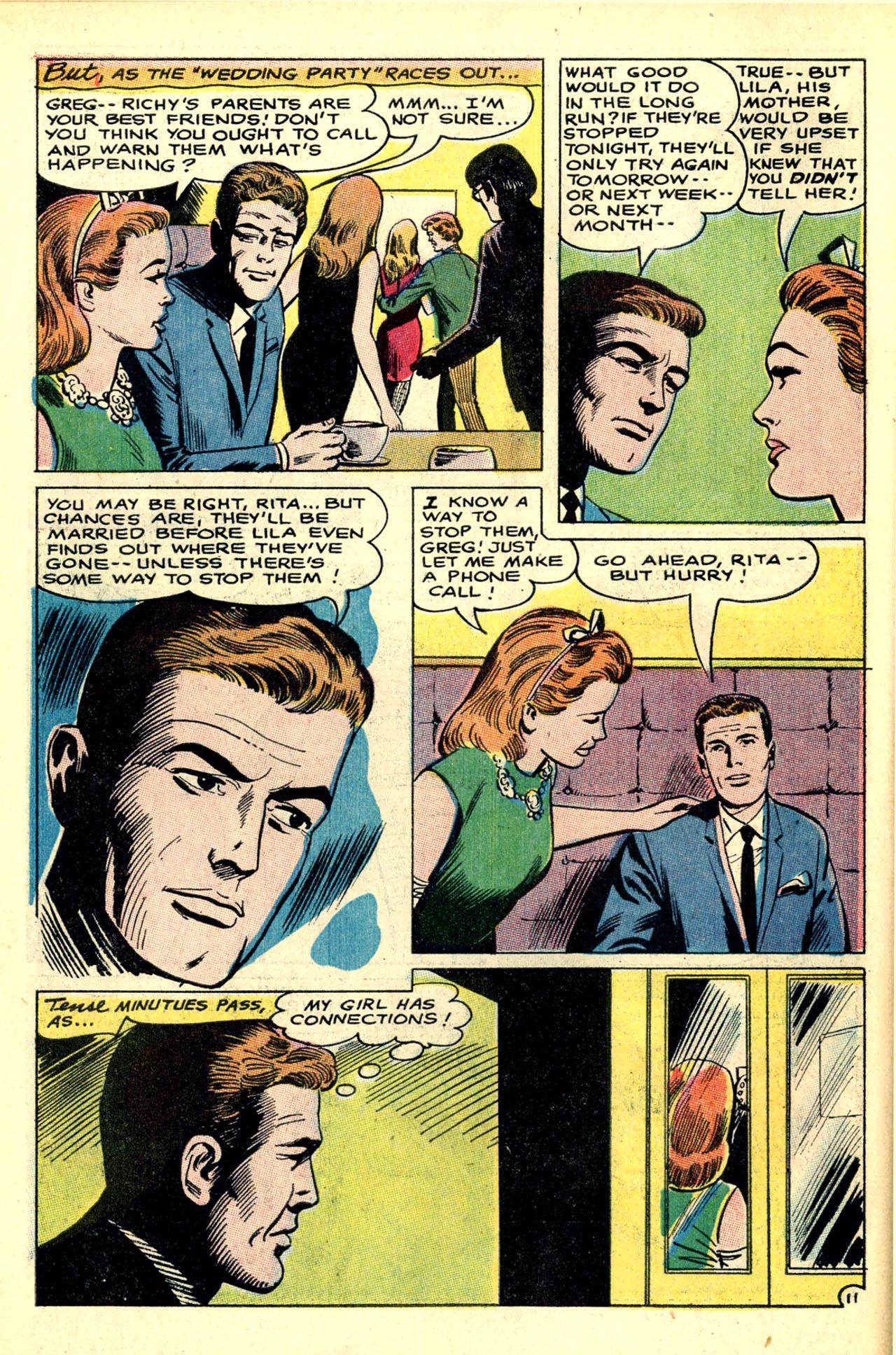 Read online Secret Hearts comic -  Issue #121 - 30