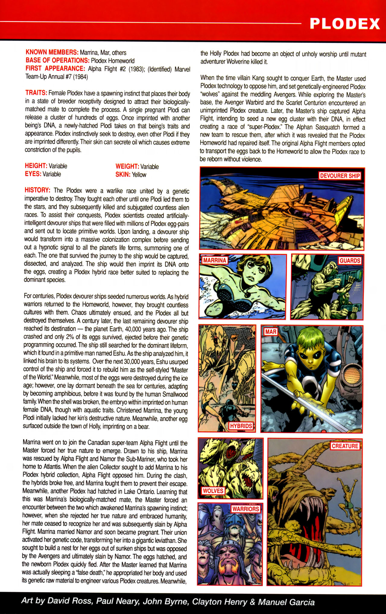 Read online All-New Official Handbook of the Marvel Universe A to Z comic -  Issue #8 - 49