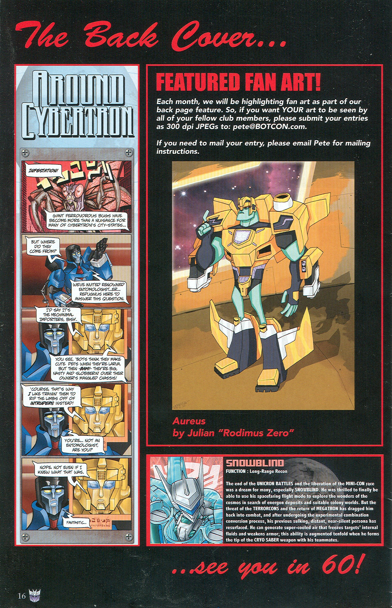 Read online Transformers: Collectors' Club comic -  Issue #32 - 16