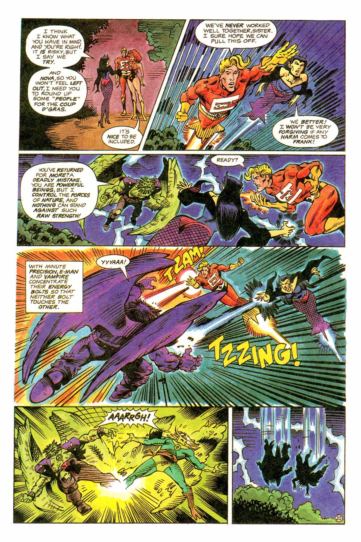 Read online E-man (1993) comic -  Issue # Full - 23