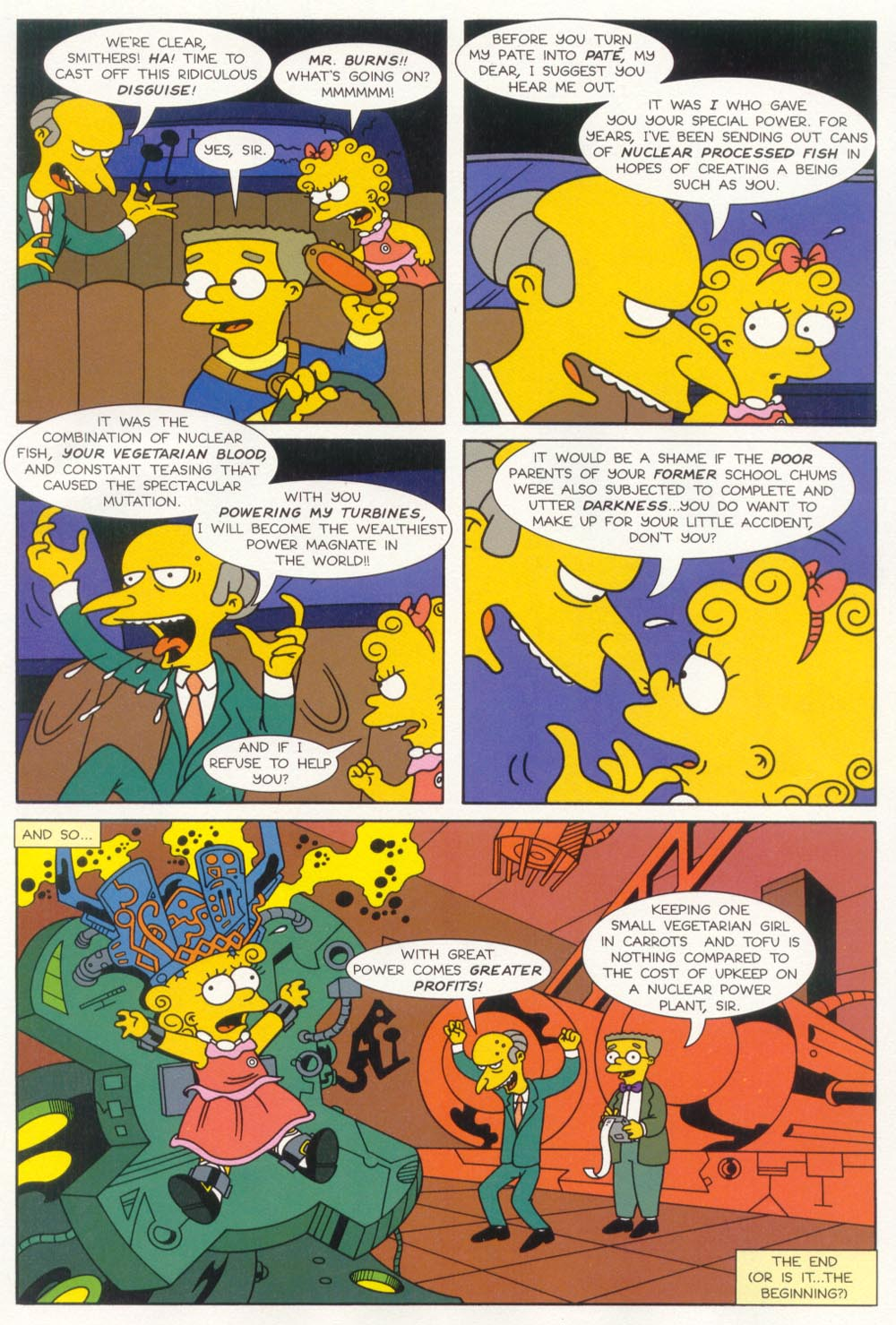 Read online Treehouse of Horror comic -  Issue #5 - 15