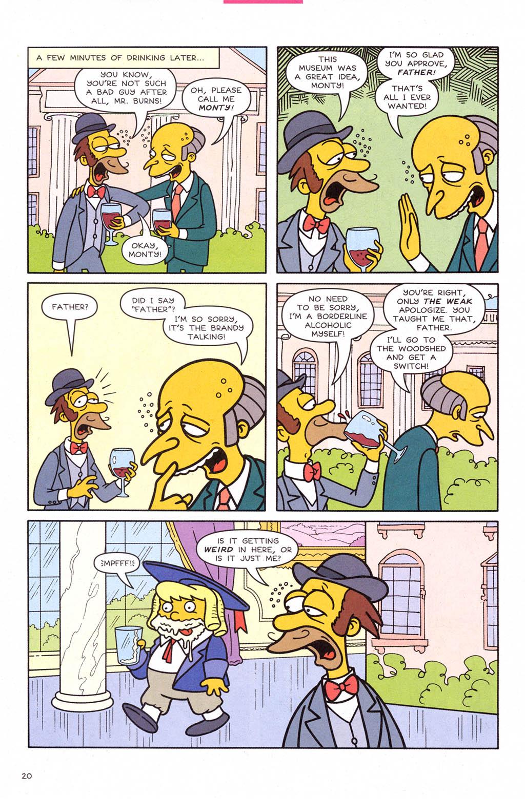 Read online Simpsons Comics comic -  Issue #109 - 21