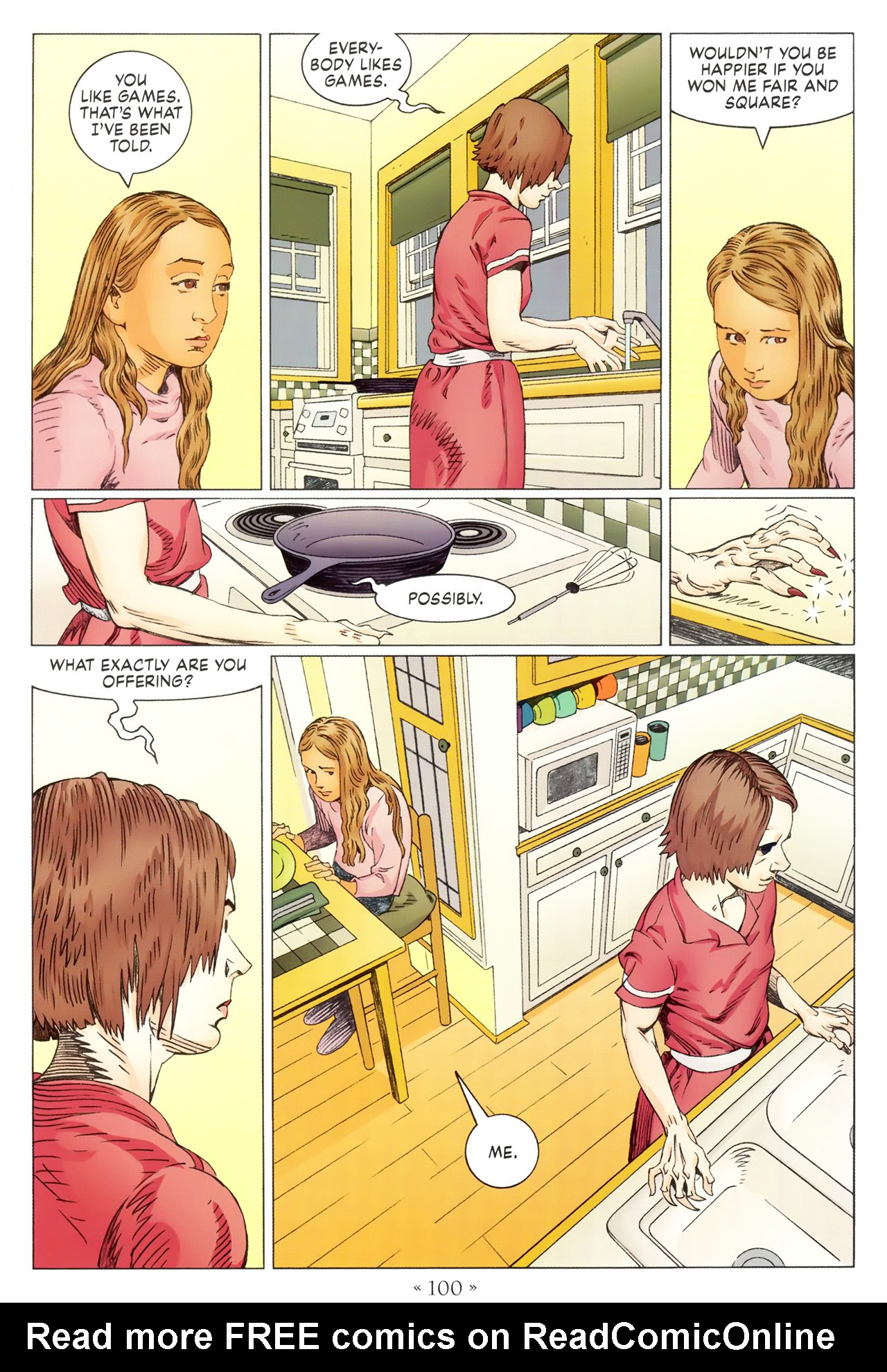 Read online Coraline comic -  Issue #1 - 106