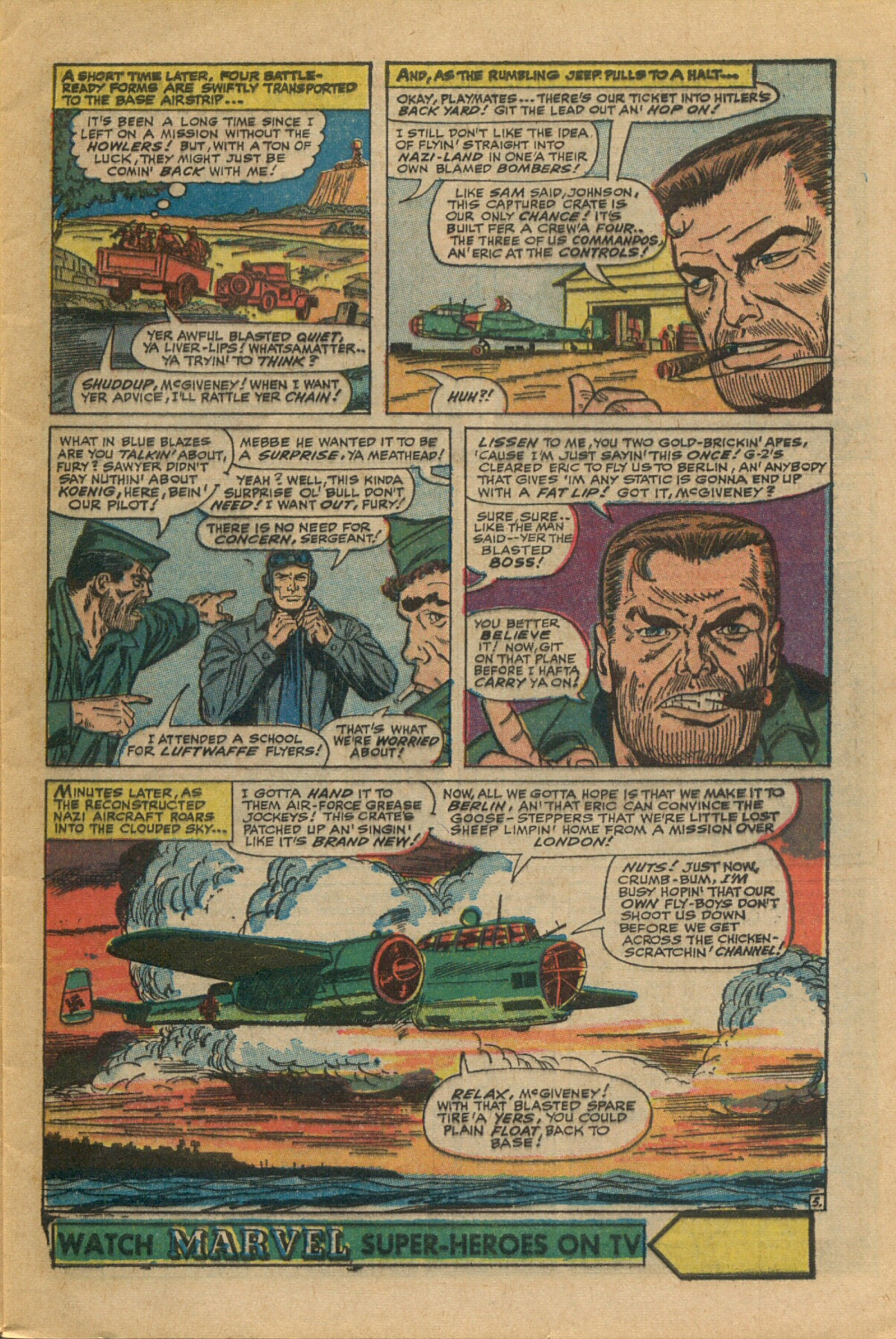 Read online Sgt. Fury comic -  Issue #35 - 9