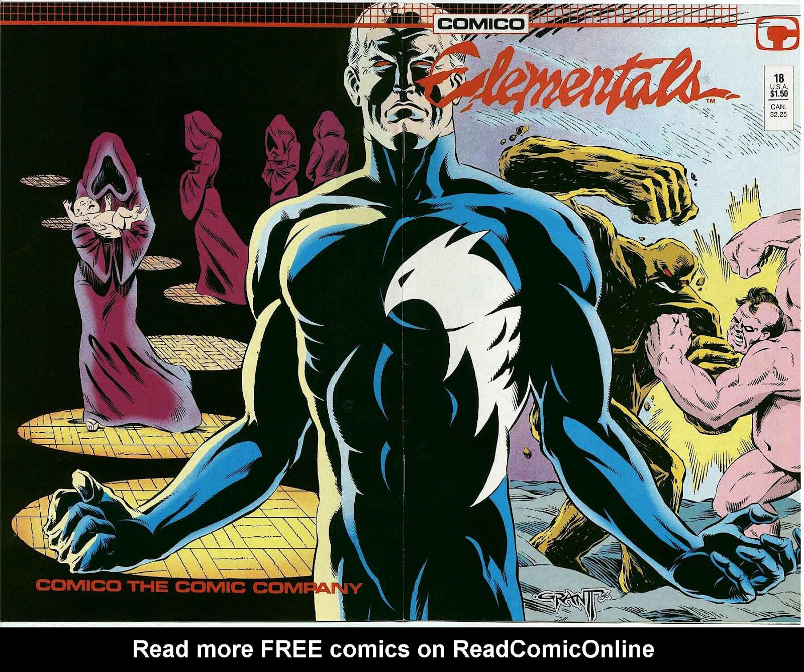 Elementals (1984) issue 18 - Page 1