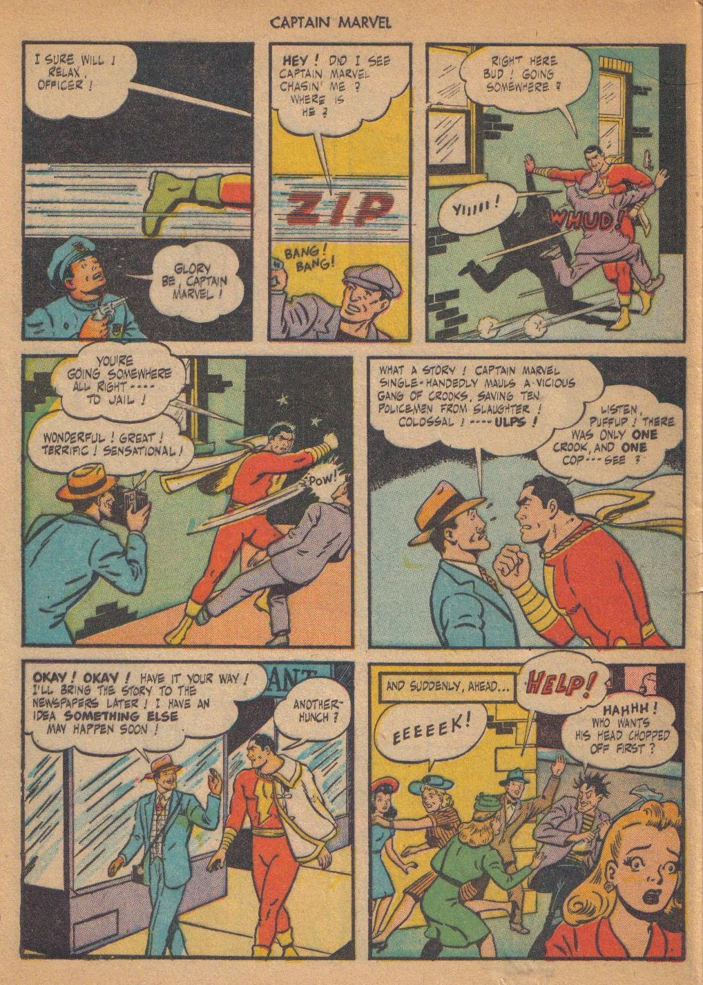 Captain Marvel Adventures issue 64 - Page 44