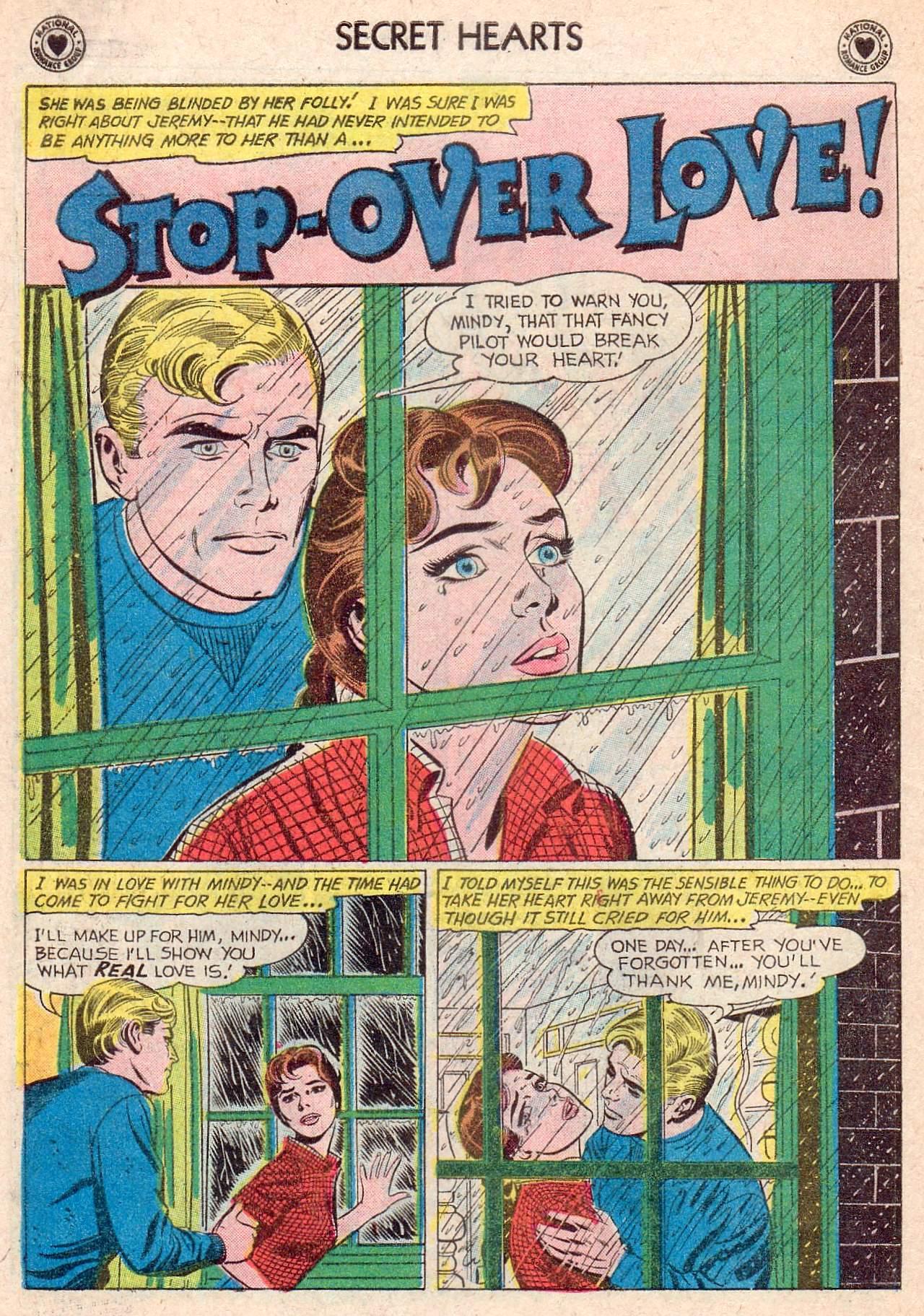 Read online Secret Hearts comic -  Issue #67 - 18