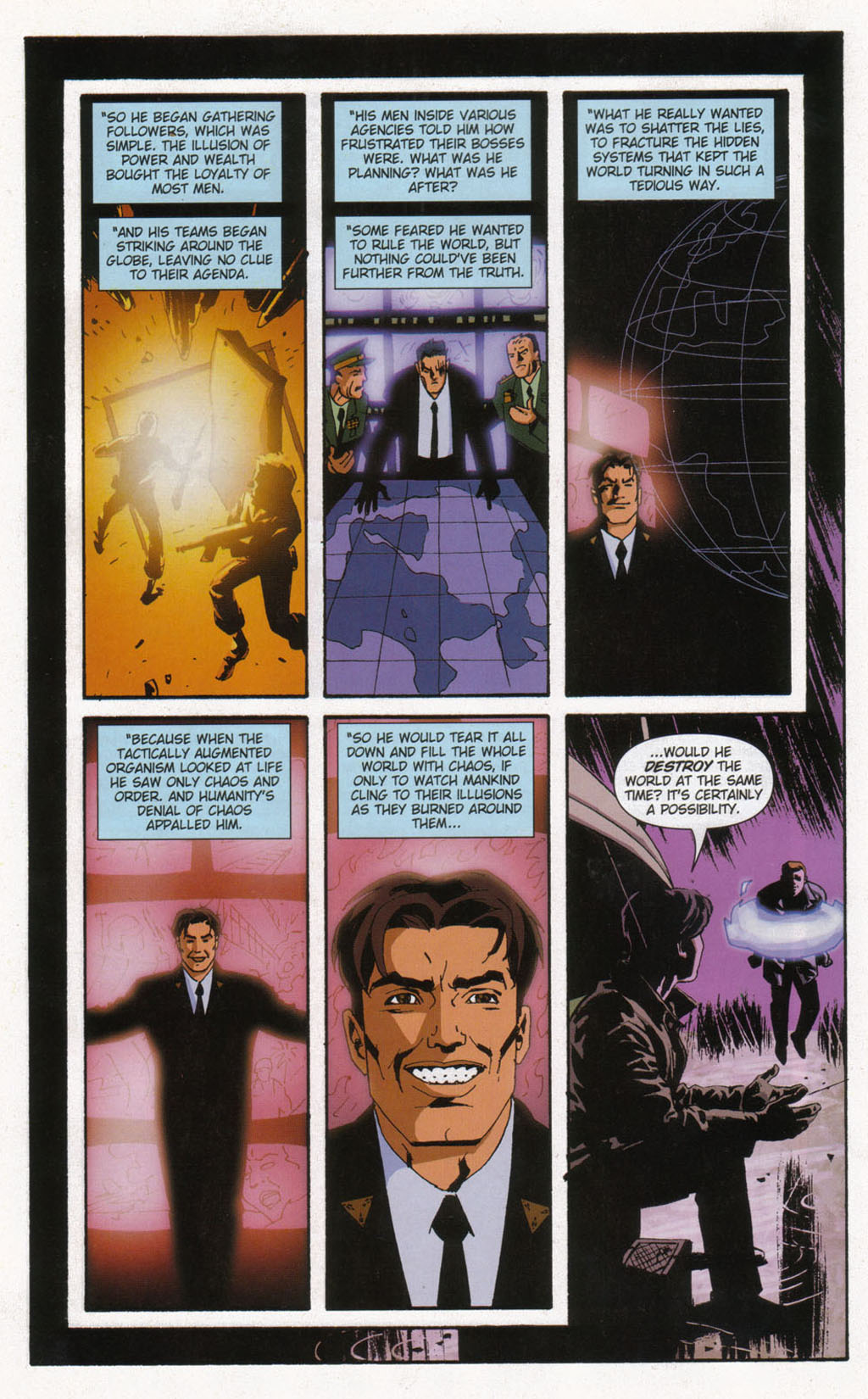 Read online Sleeper comic -  Issue #12 - 18